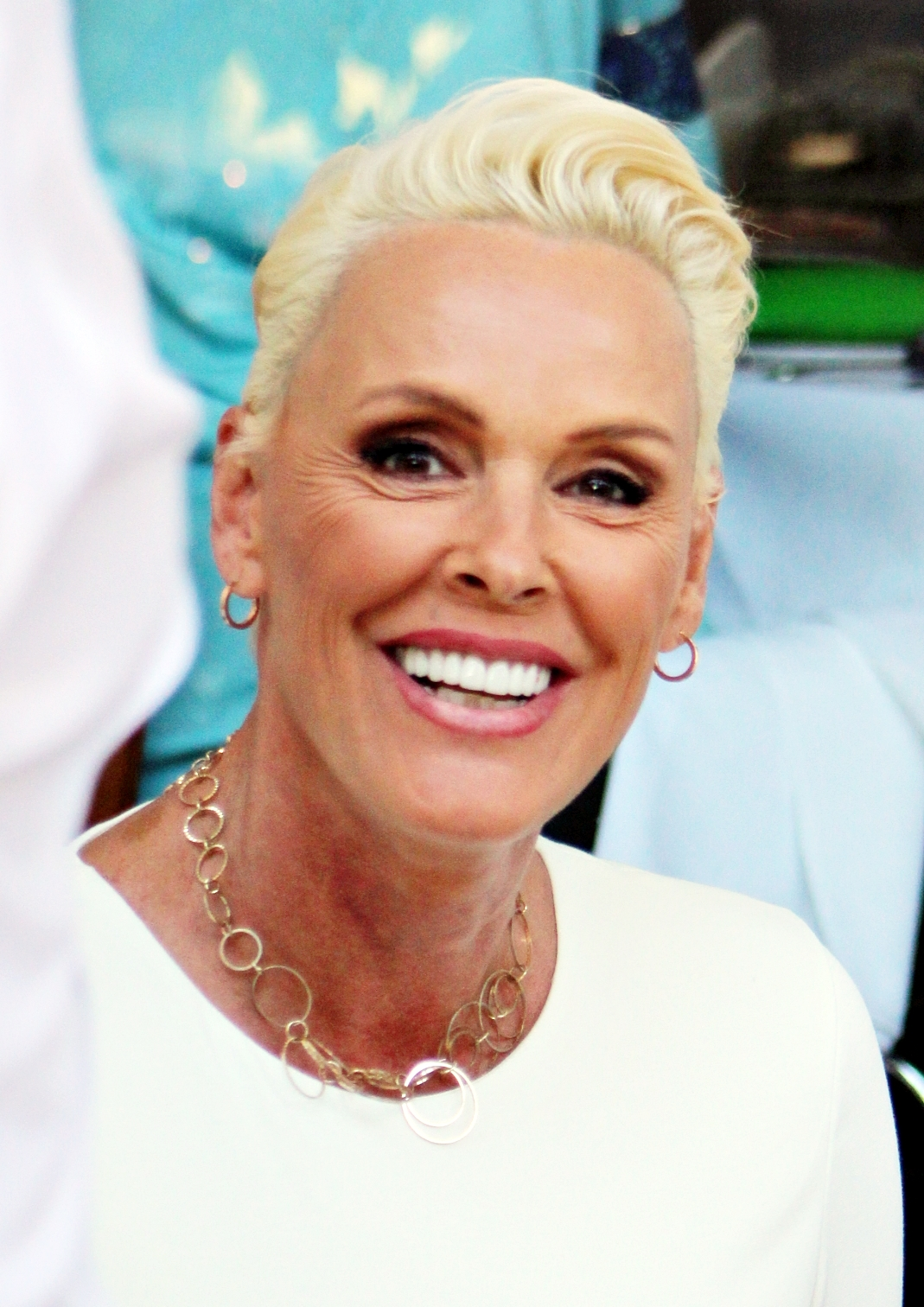 Brigitte Nielsen out in Beverly Hills