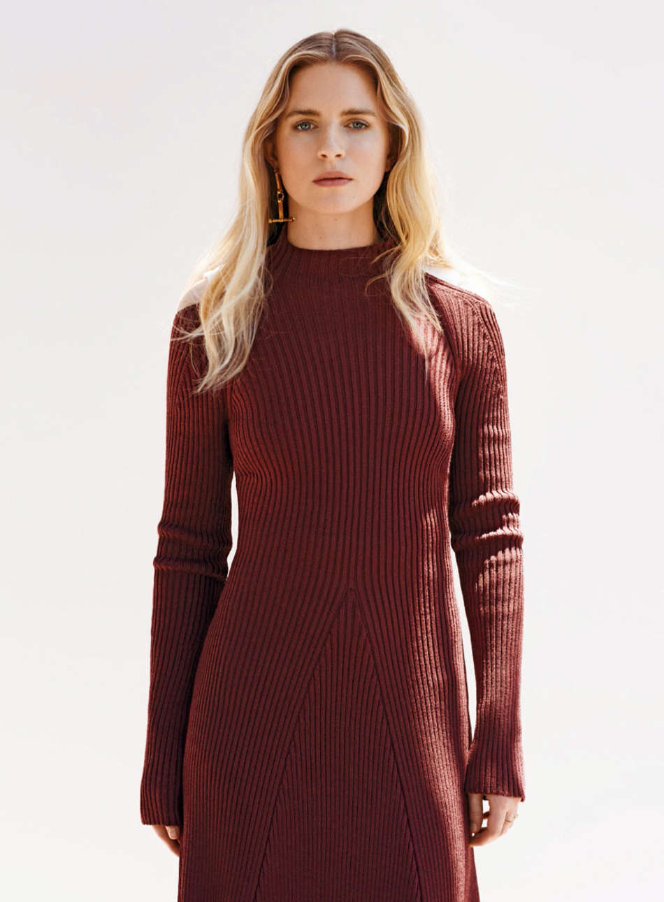 Brit Marling InStyle Photoshoot