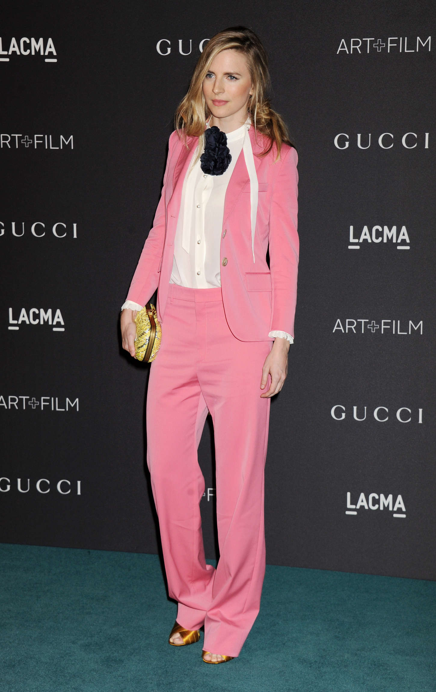 Brit Marling LACMA ArtFilm Gala in Los Angeles