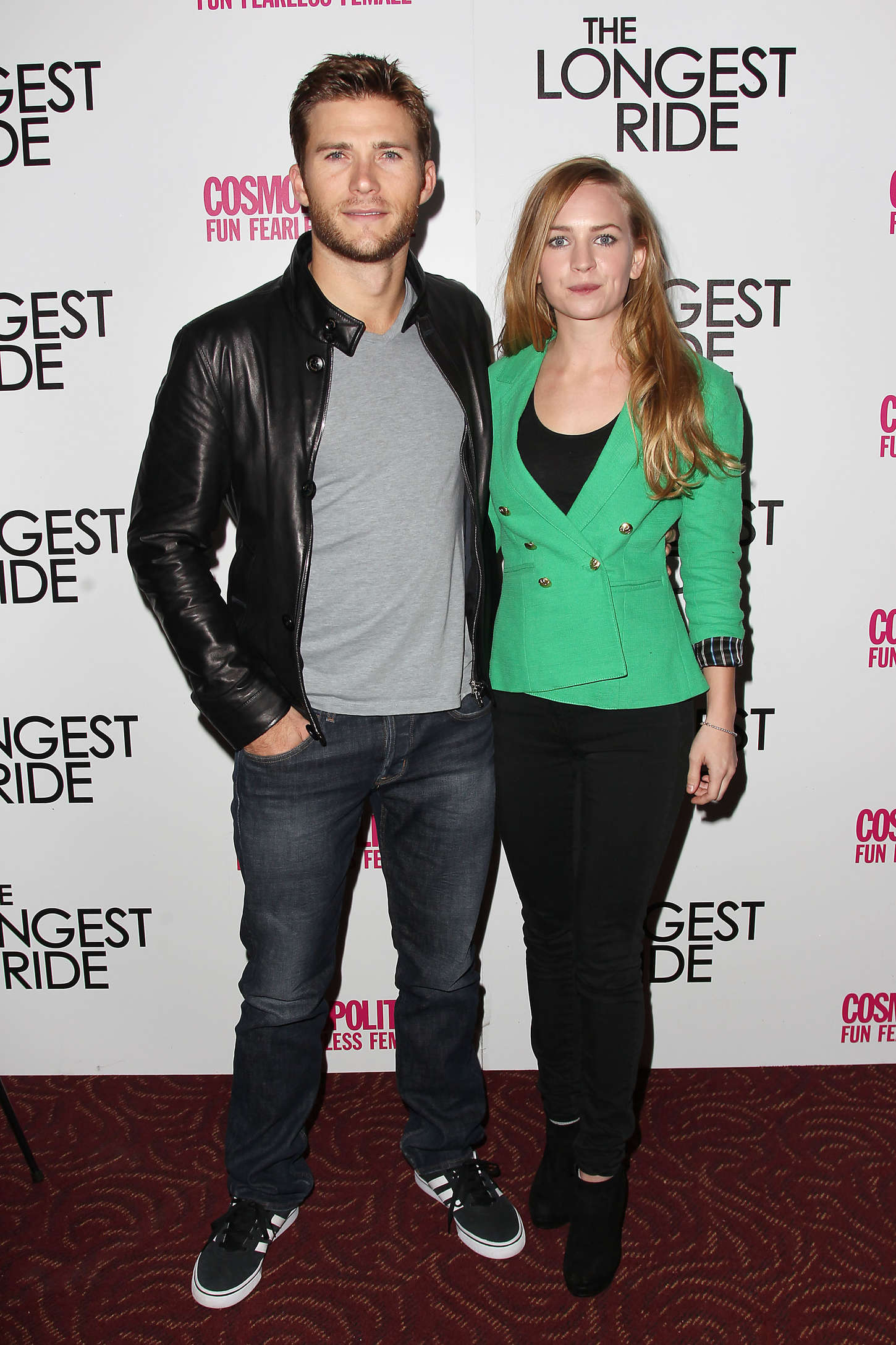 Britt Robertson The Longest Ride Fan Screening in New York