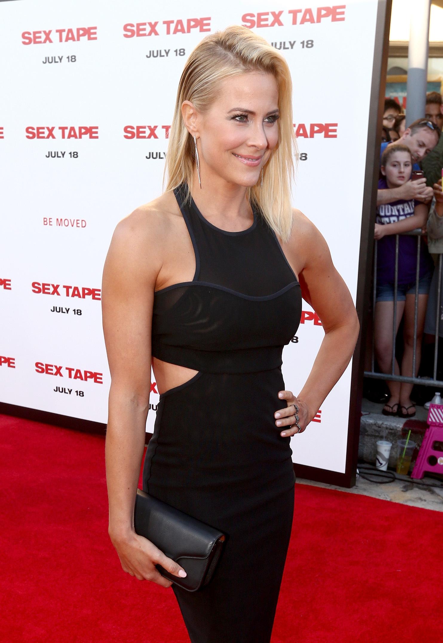 Brittany Daniel Sex Tape premiere in Westwood