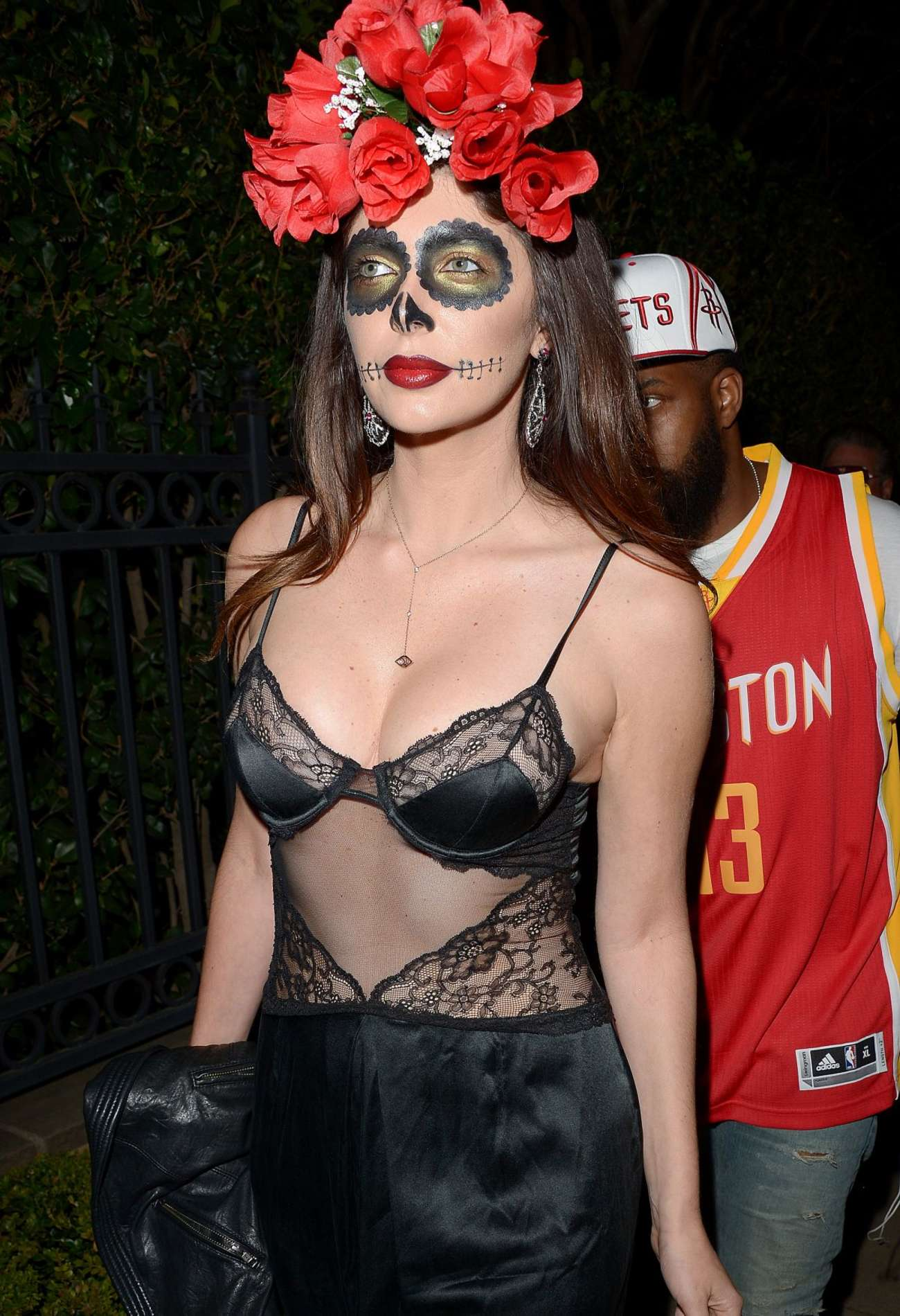 Brittny Gastineau Casa Tequila Halloween Party in Beverly Hills