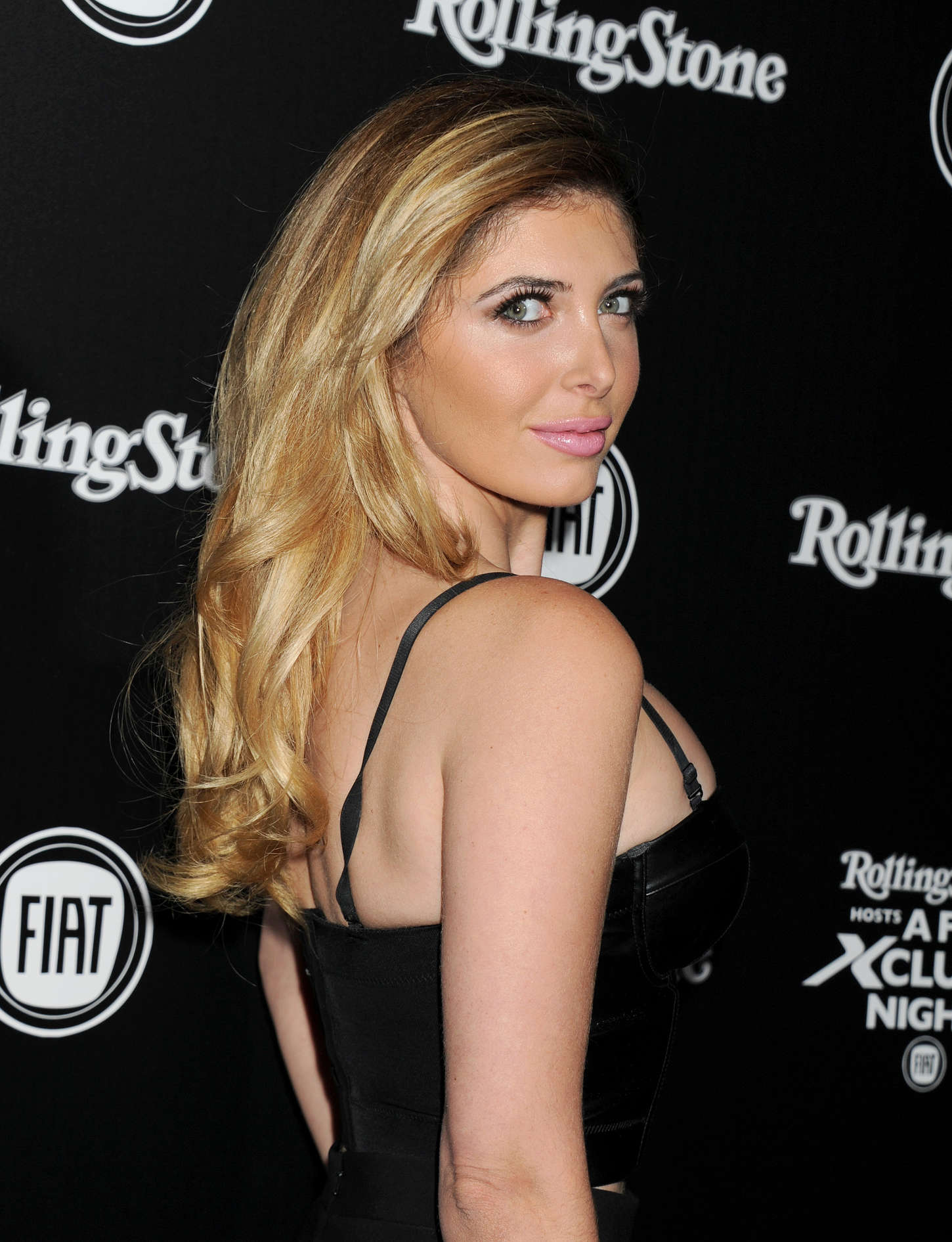 Brittny Gastineau FIAT Exclusive Night Celebrating The Launch Of The All-New Fiat Hollywood