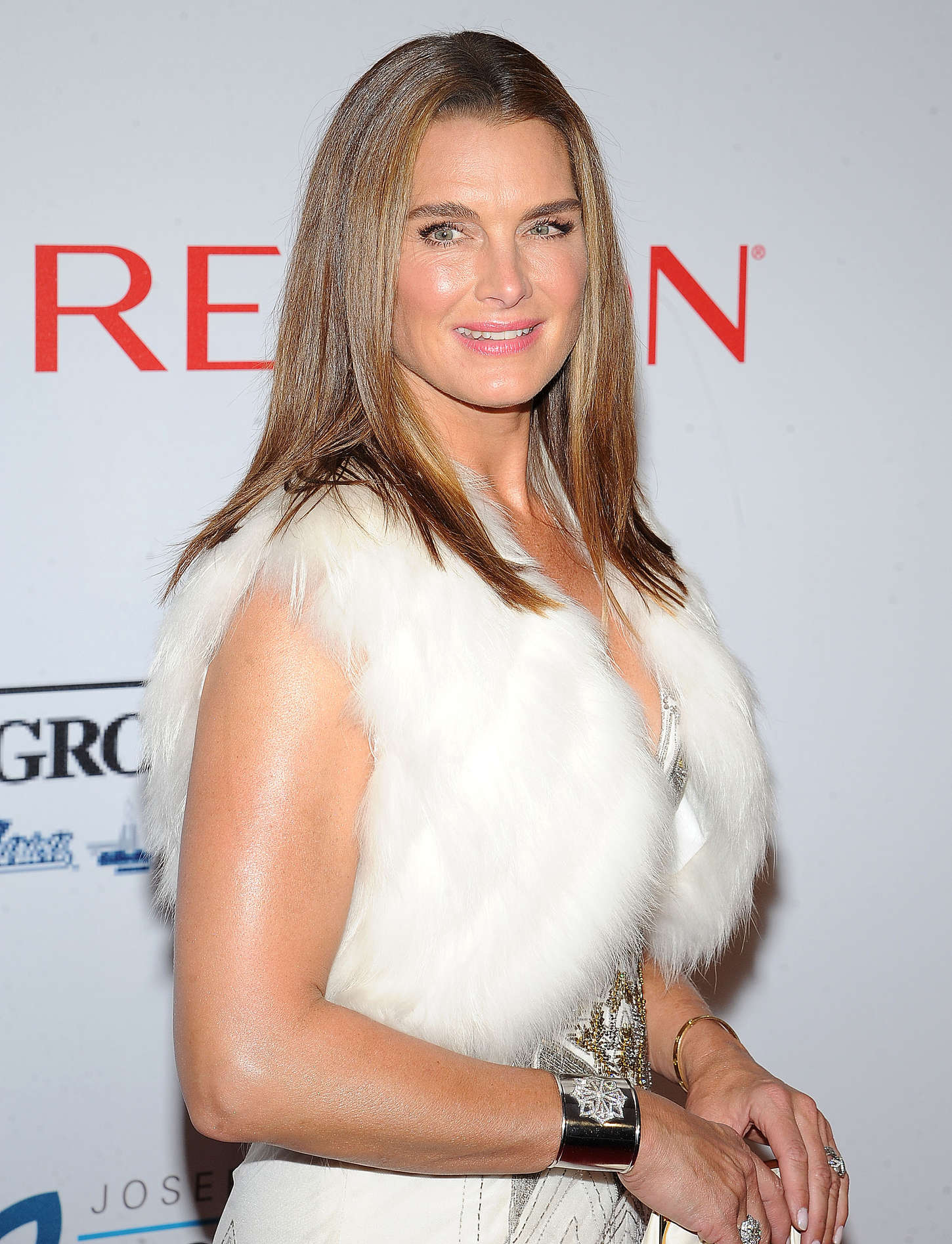Brooke Shields Elton John AIDS Foundation Annual An Enduring Vision Benefit at in New York