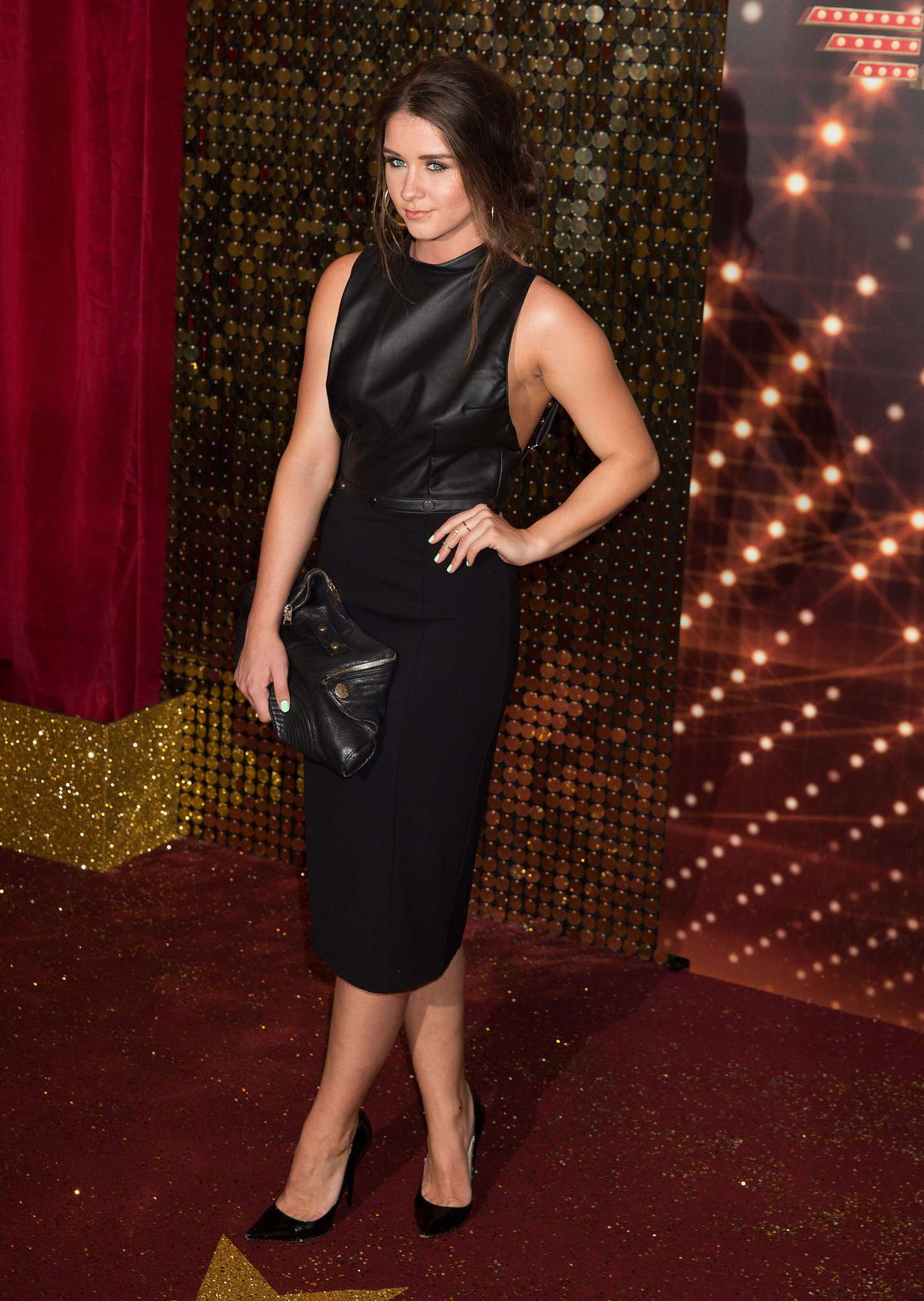 Brooke Vincent British Soap Awards in Manchester