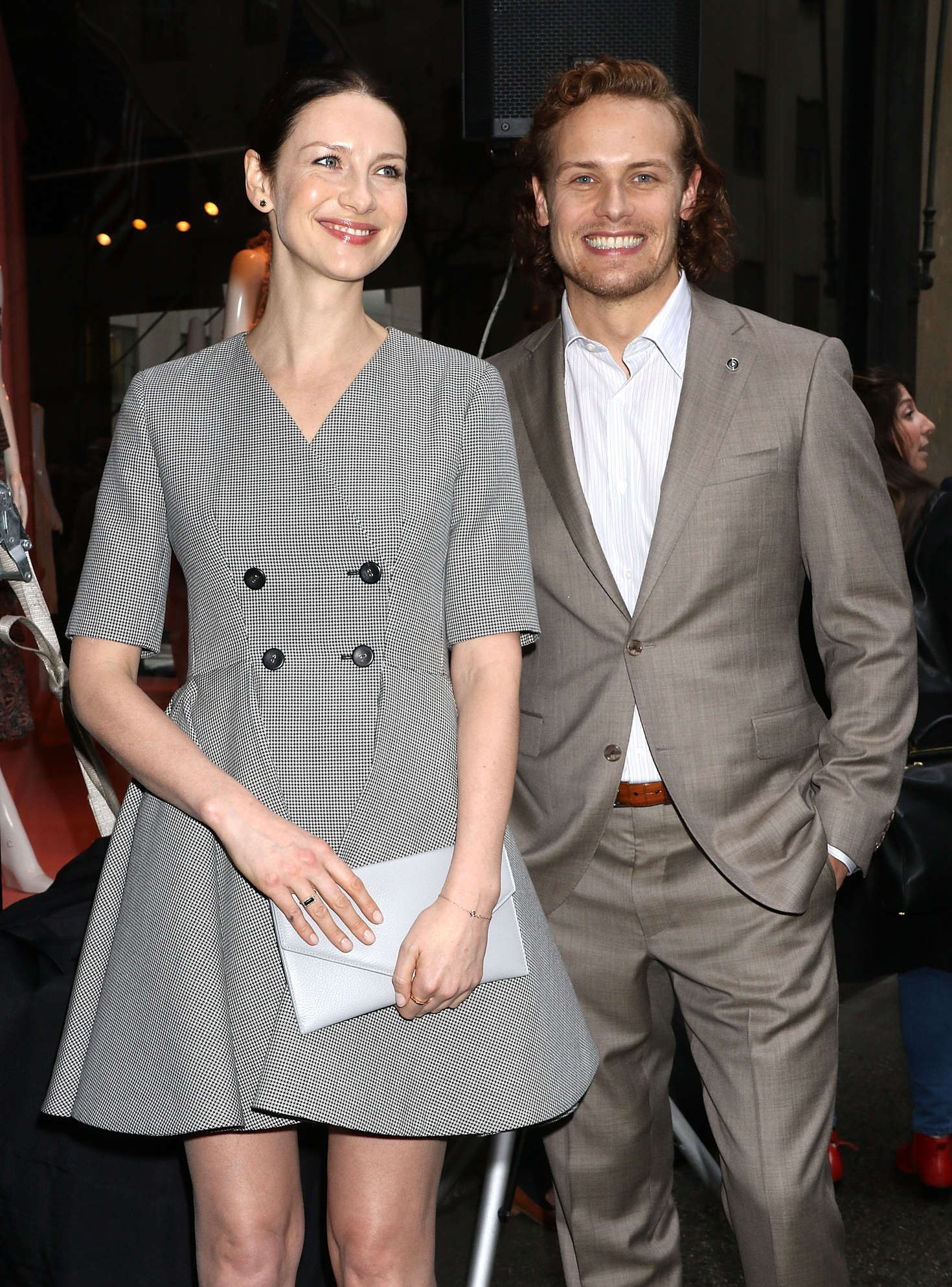 Caitriona Balfe Outlander Photocall in New York City