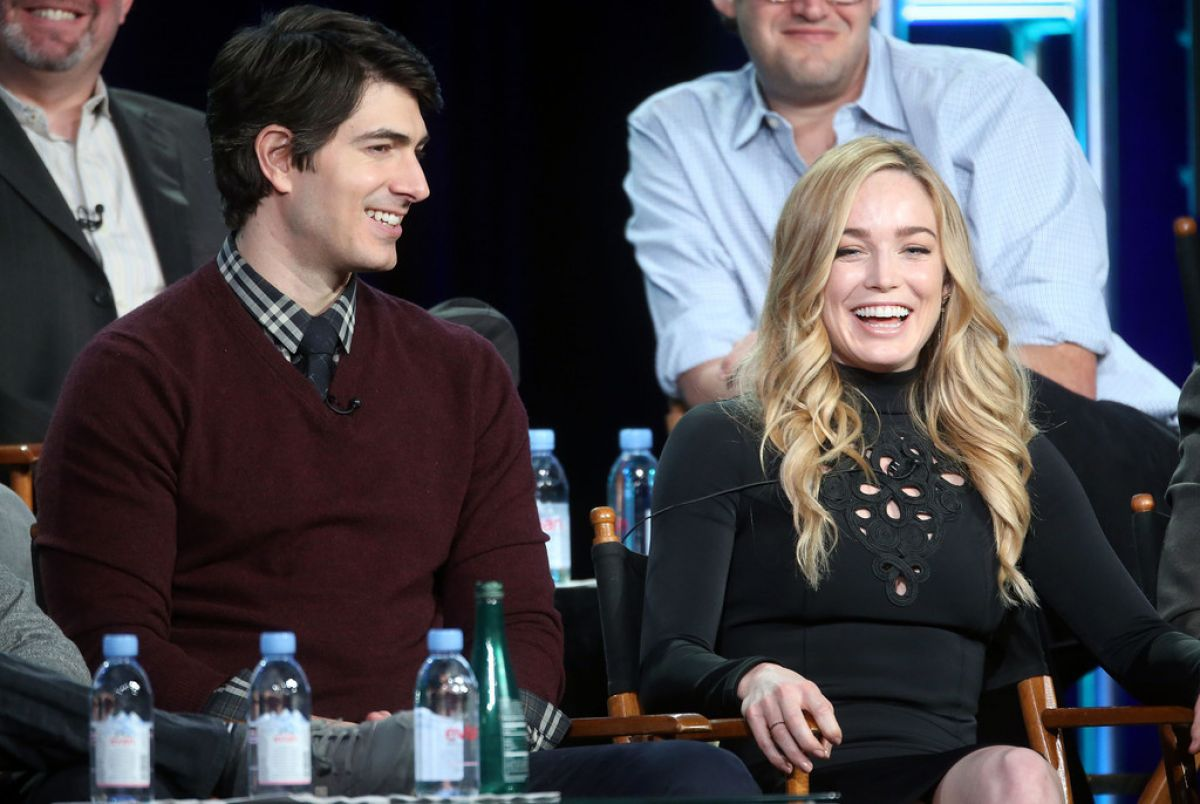 Caity Lotz Winter TCA Tour in Pasadena