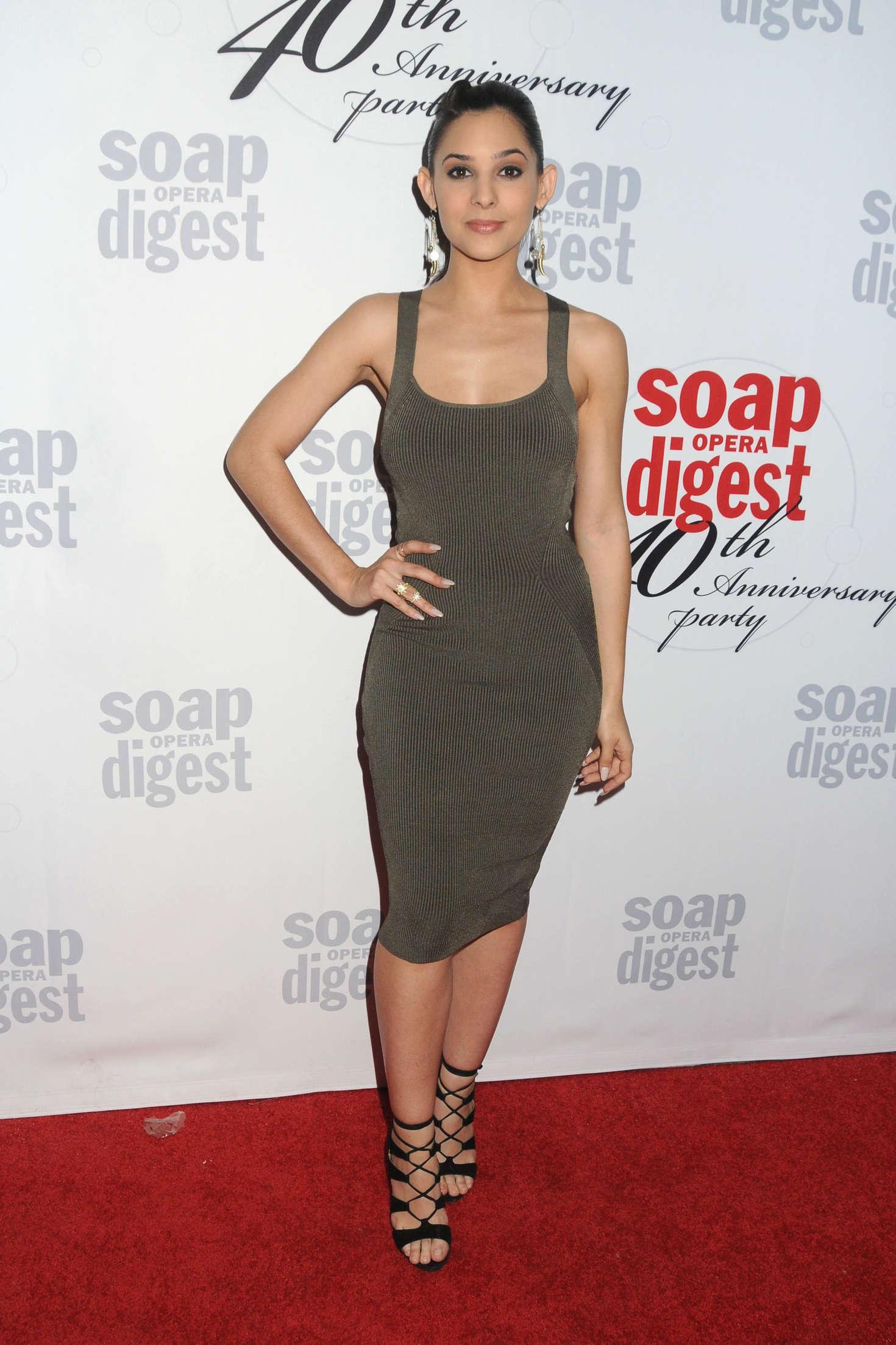Camila Banus The Soap Opera Digests Anniversary Event in Hollywood