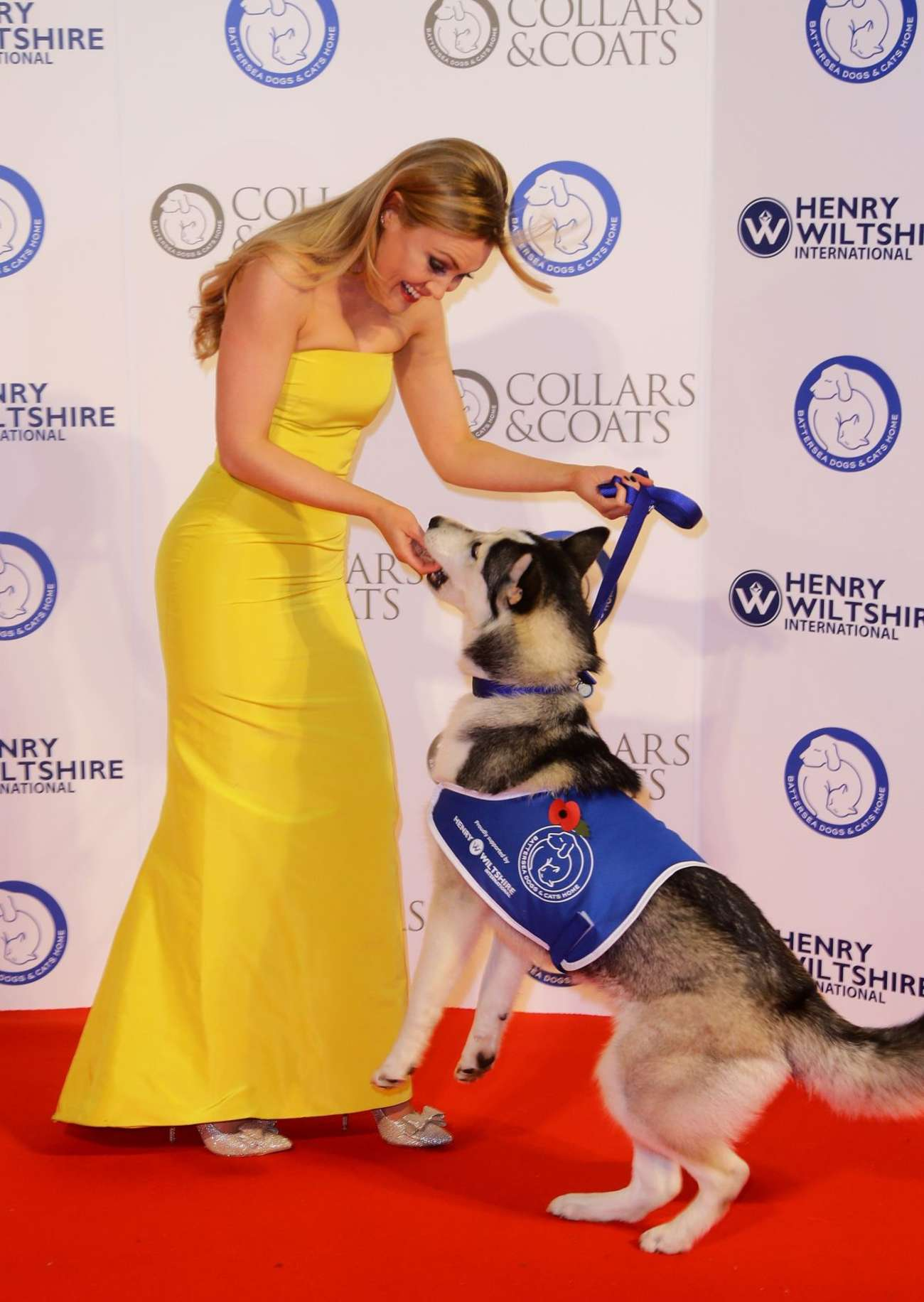 Camilla Kerslake Battersea Dogs Cats Event in London