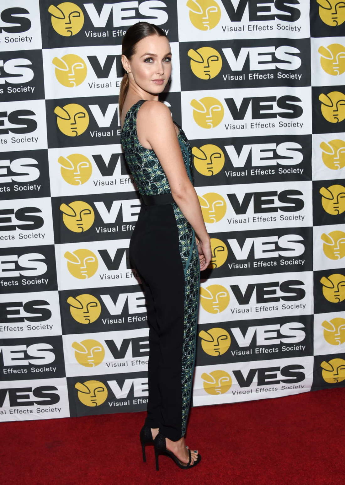 Camilla Luddington Annual VES Awards in Beverly Hills