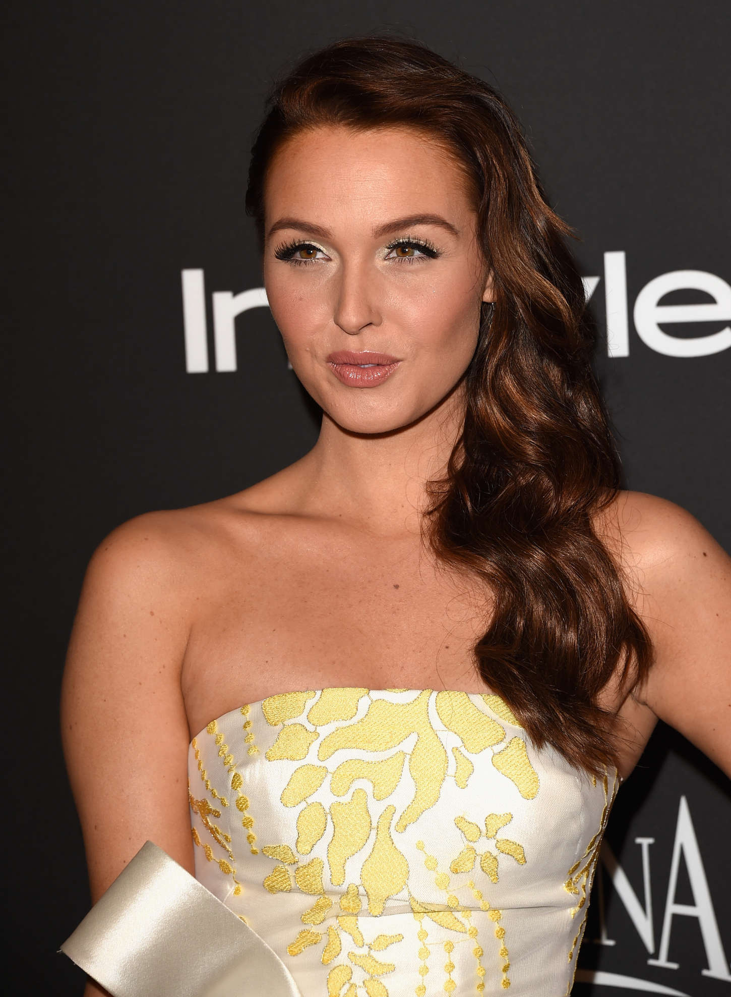 Camilla Luddington InStyle And Warner Bros Golden Globes Party in Beverly Hills