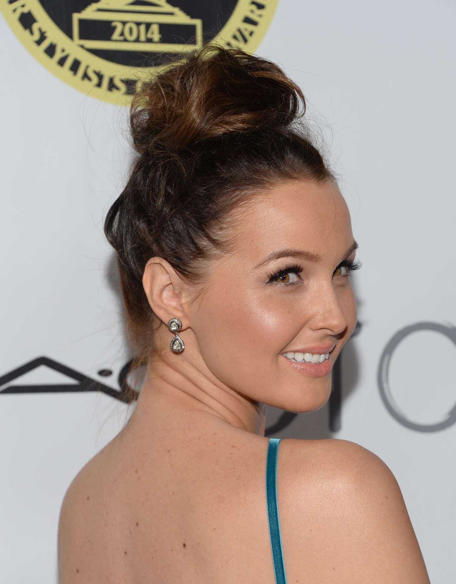 Camilla Luddington The Annual Make-Up Artists And Hair Stylists Guild Awards in Hollywood