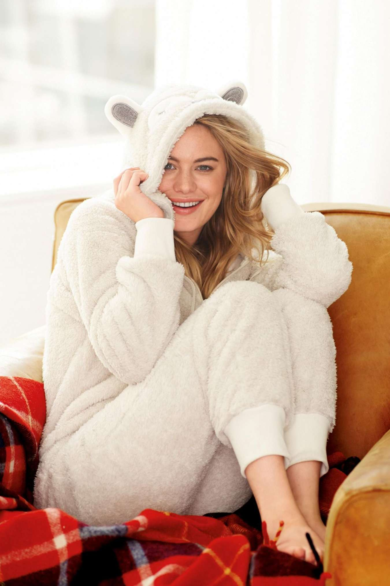 Camille Rowe Next Sleepwear Photoshoot