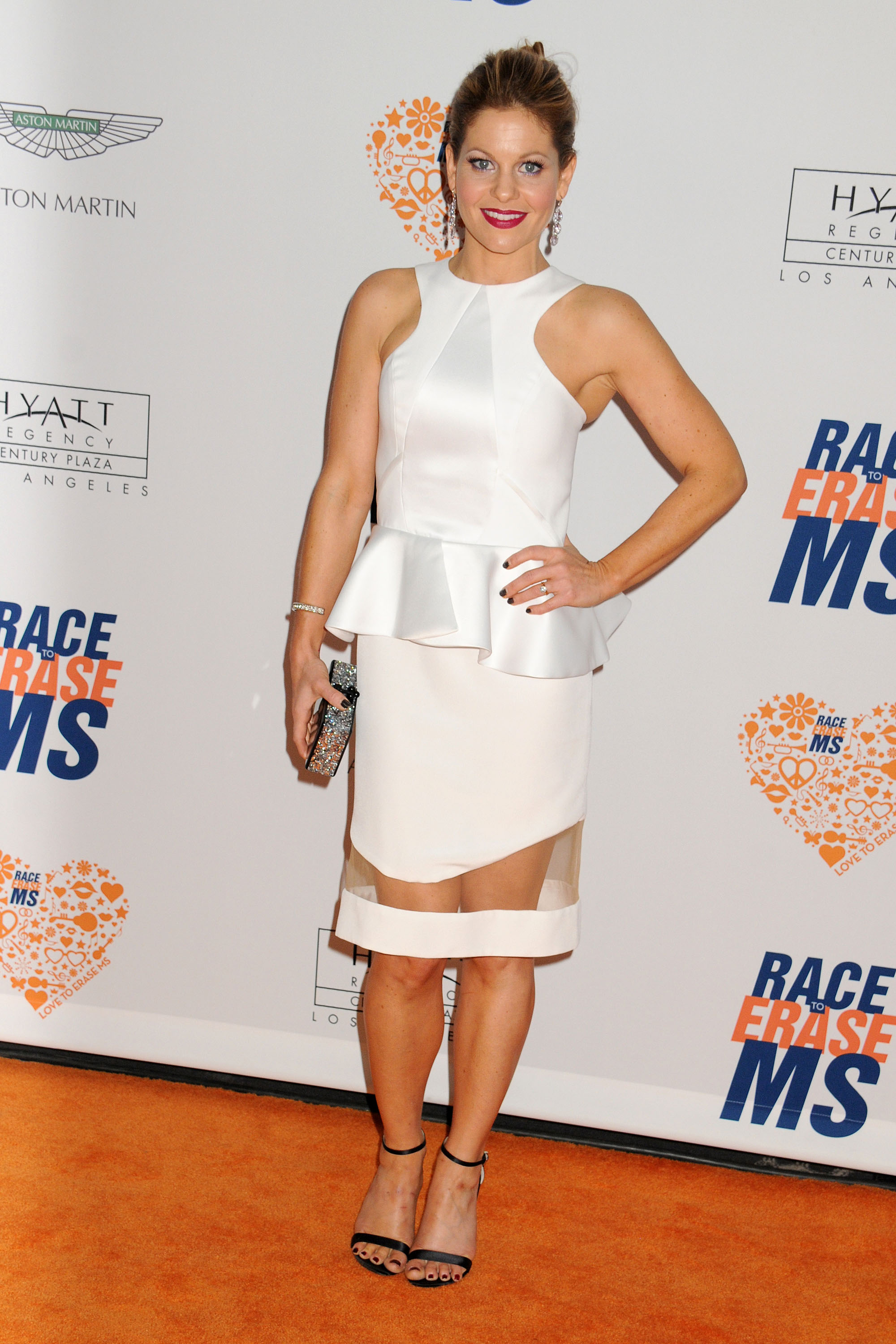 Candace Cameron Bure annual Race to Erase MS in Century City