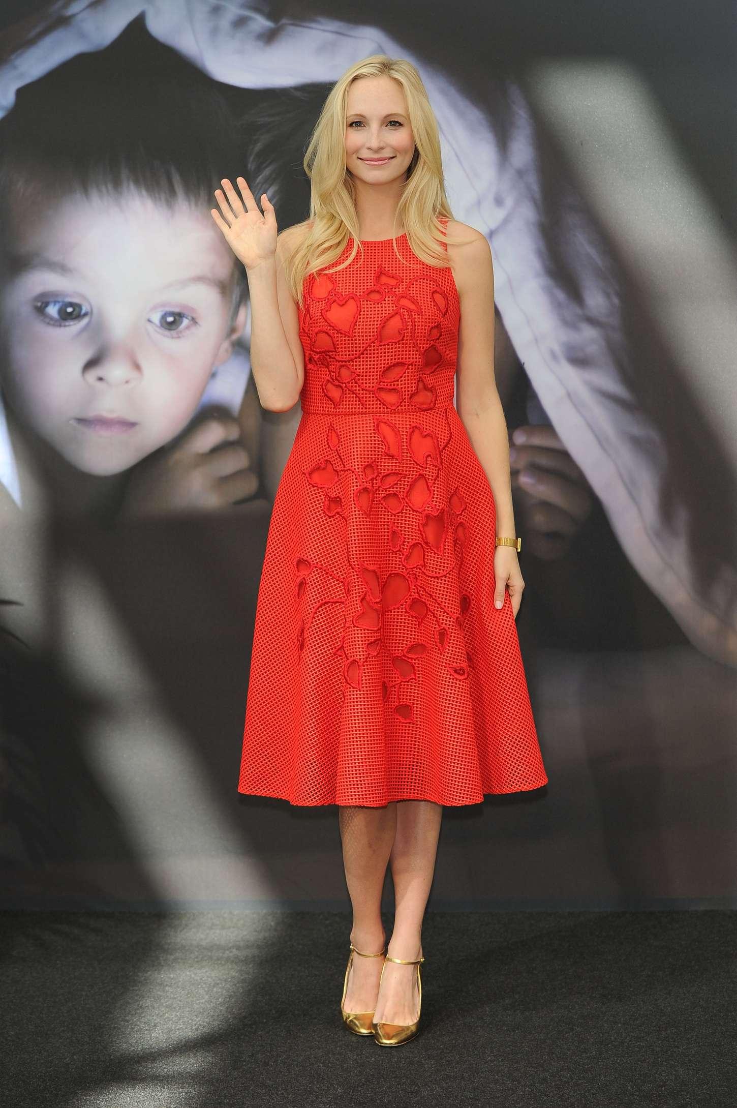 Candice Accola The Vampire Diaries Photocall at Monte Carlo TV Festival in Monaco