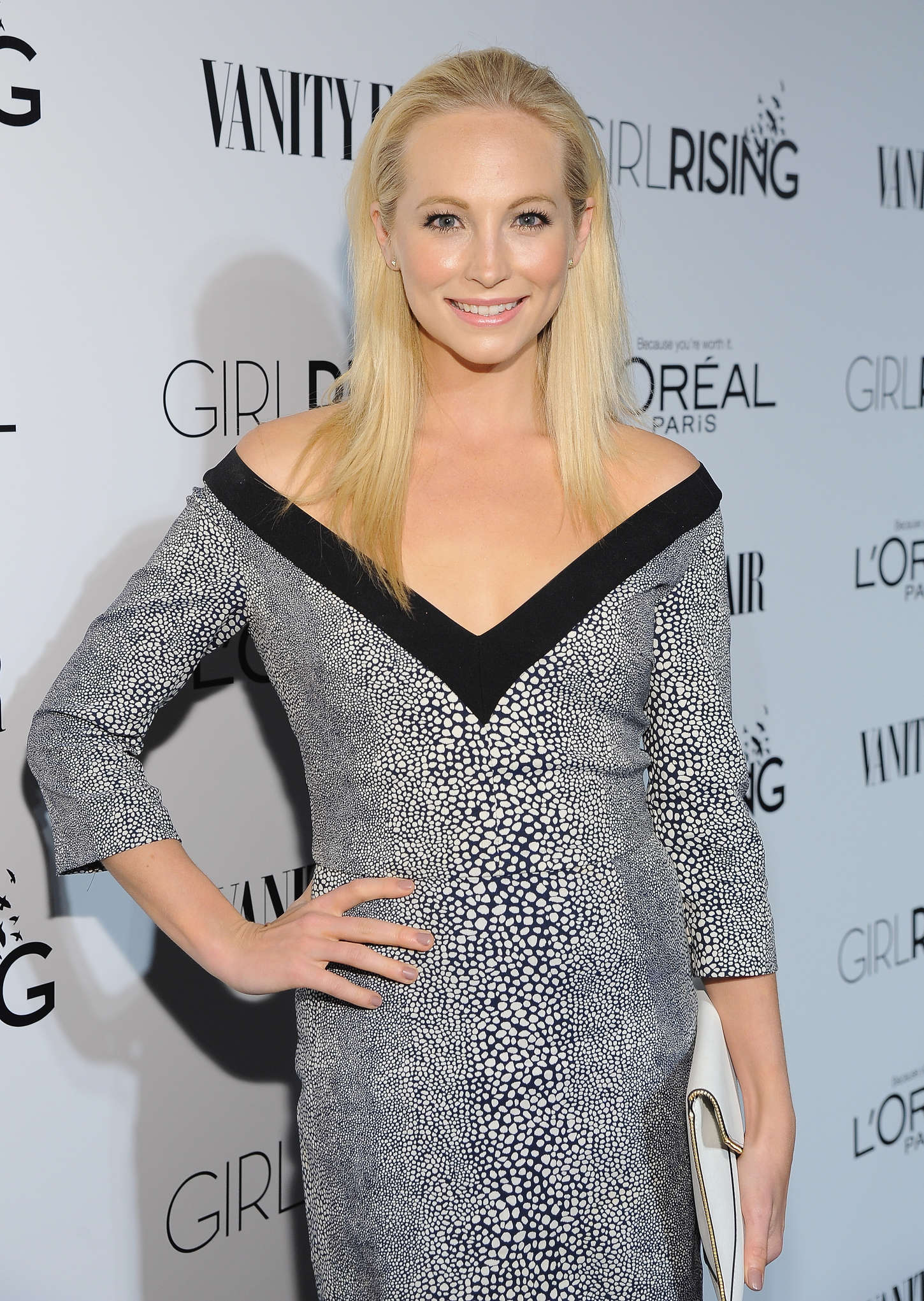 Candice Accola VANITY FAIR and LOreal Paris D.J. Night Benefit in Los Angeles