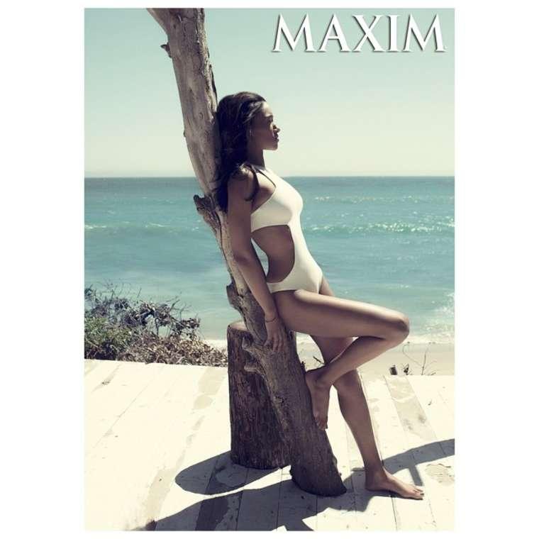 Candice Patton Maxim Magazine