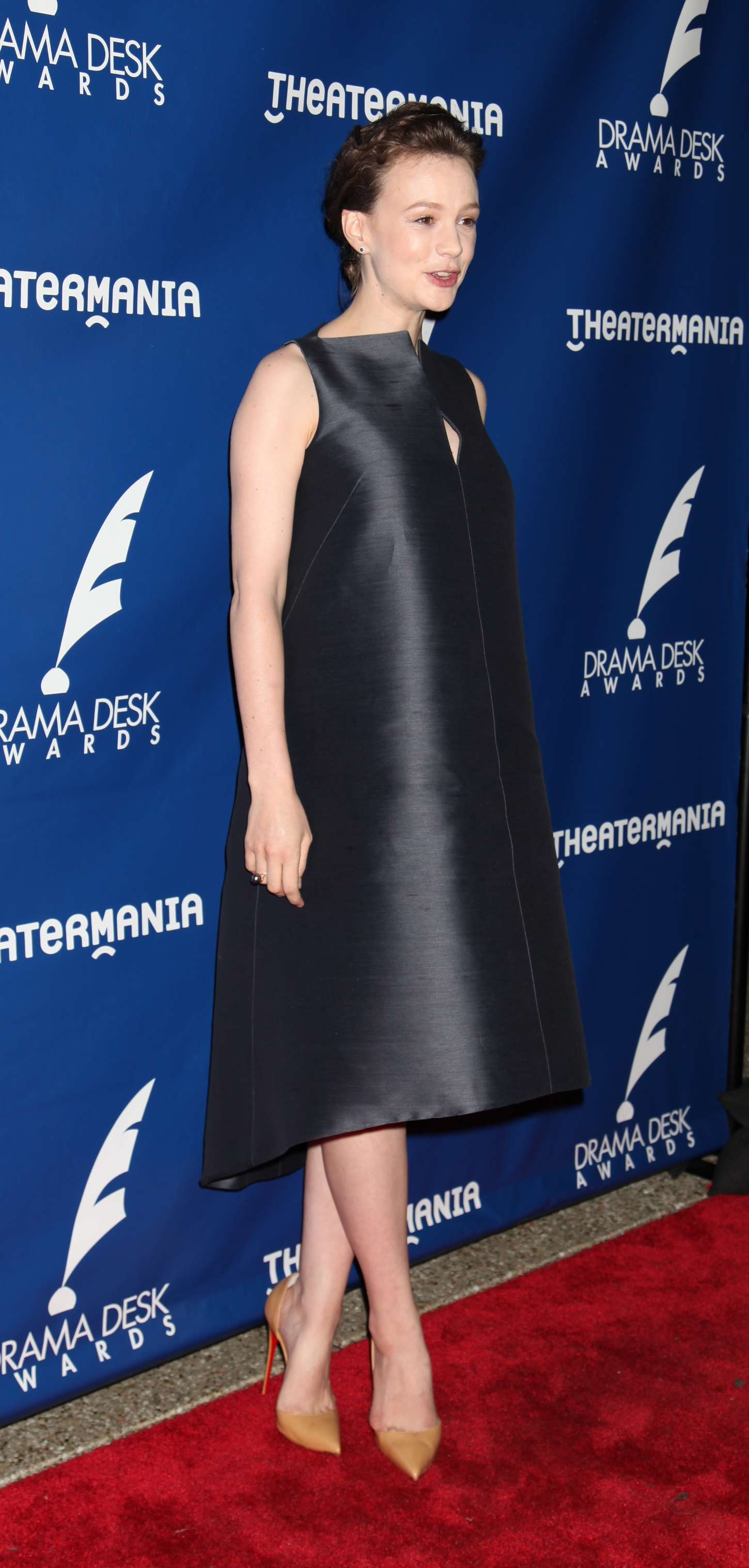 Carey Mulligan Drama Desk Awards in New York