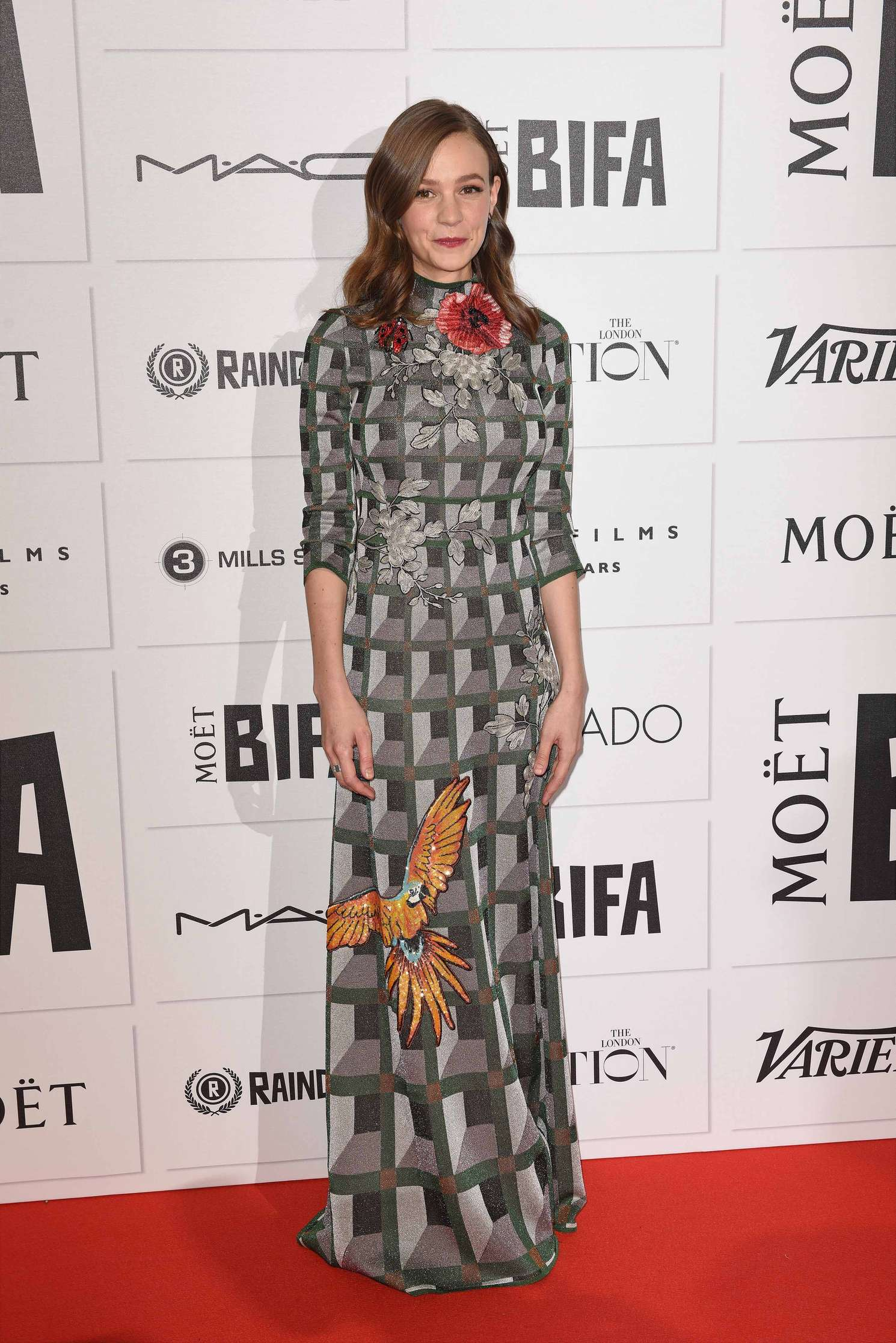 Carey Mulligan Moet British Independent Film Awards in London