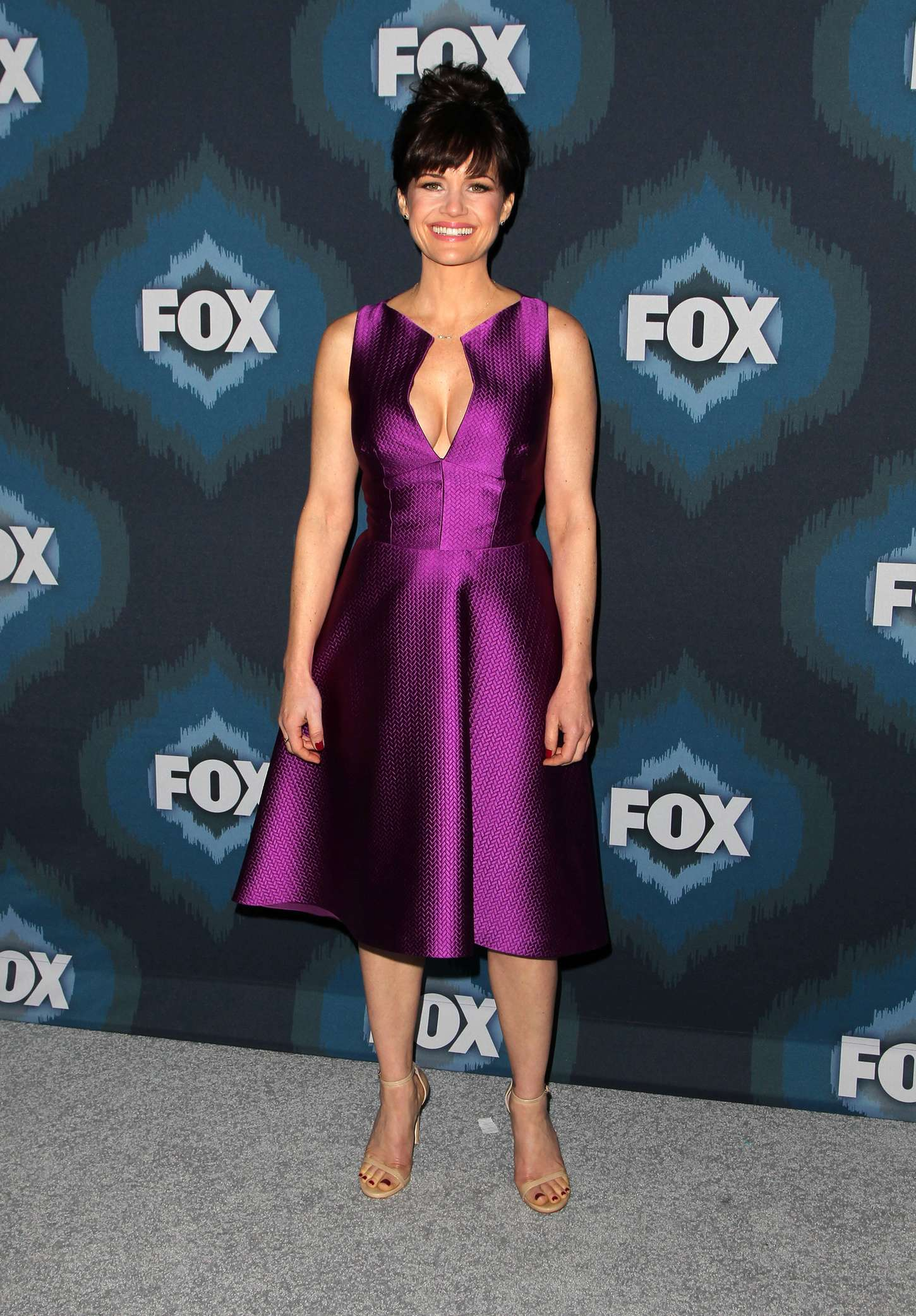 Carla Gugino Fox All-Star Party in Pasadena