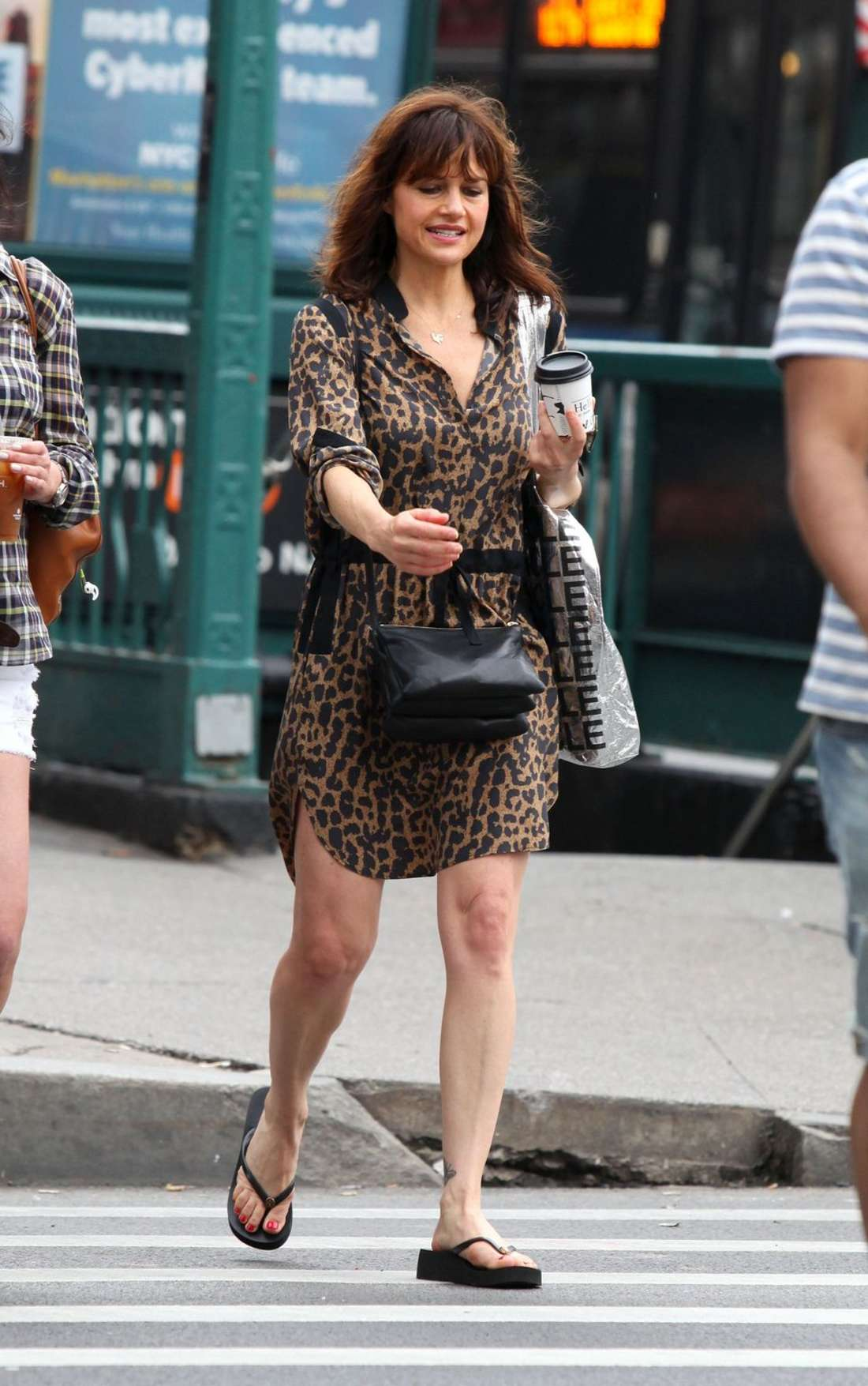 Carla Gugino Shopping in West Hollywood