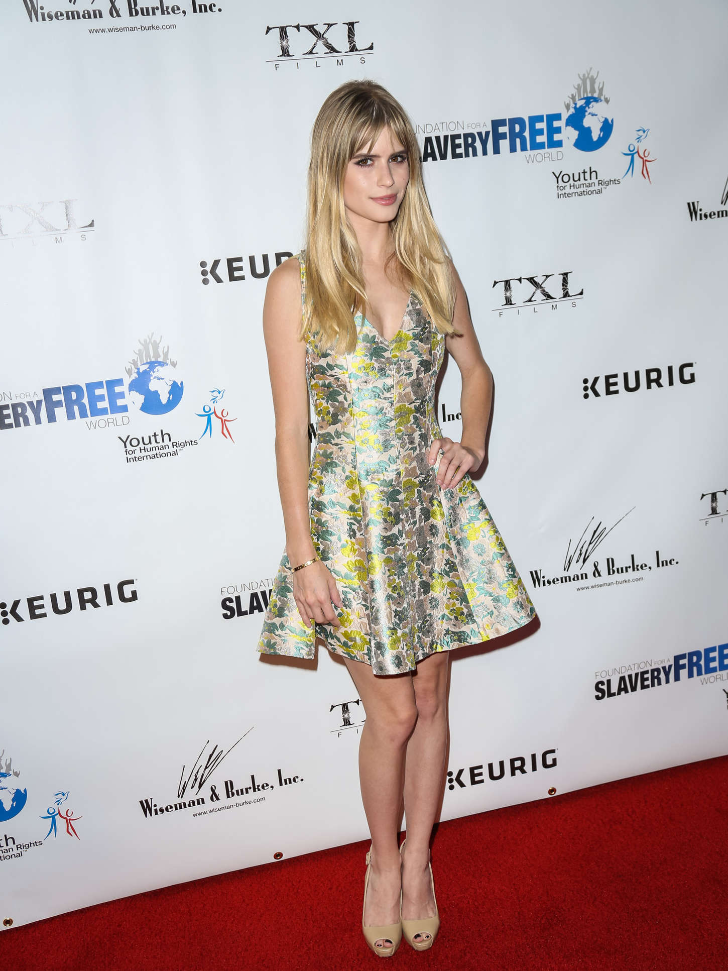 Carlson Young The Human Rights Hero Awards in Hollywood