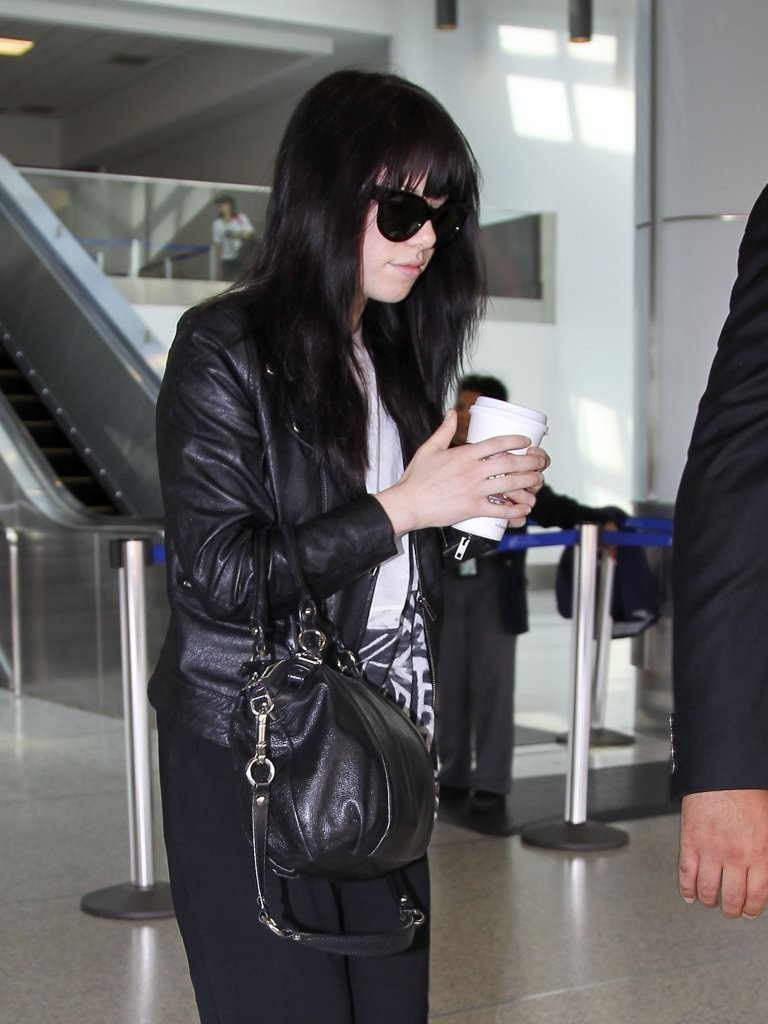 Carly Rae Jepsen at LAX