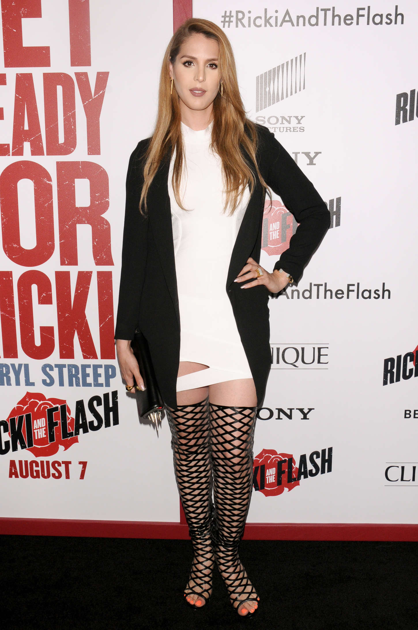 Carmen Carrera Ricki And The Flash Premiere in New York