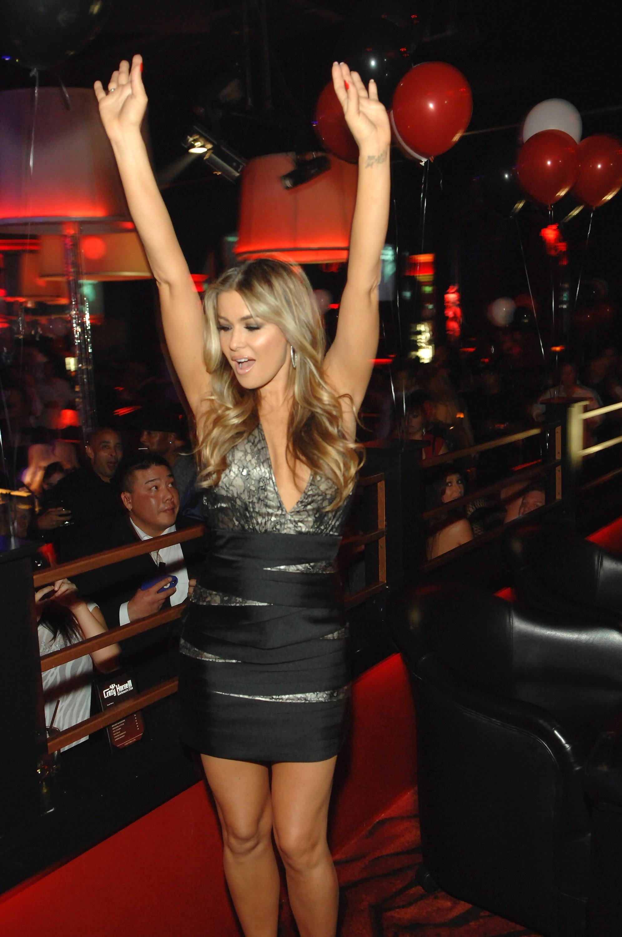 Carmen Electra Two Year Anniversary Party in Las Vegas