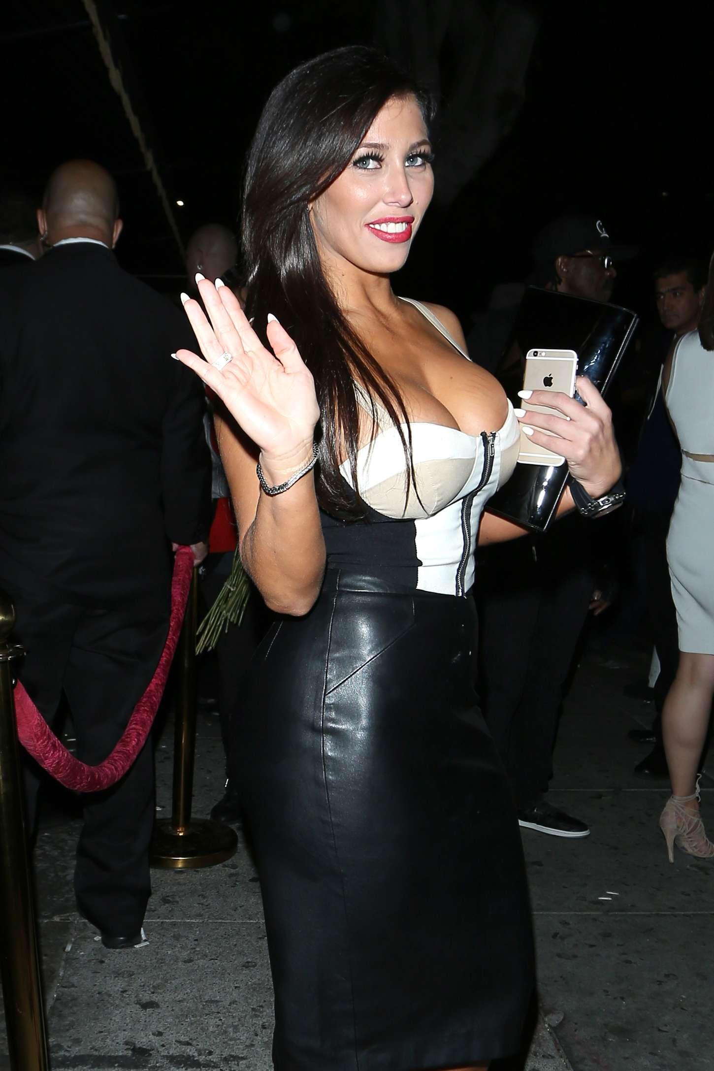 Carmen Ortega Leaving Warwick Nightclub in Los Angeles