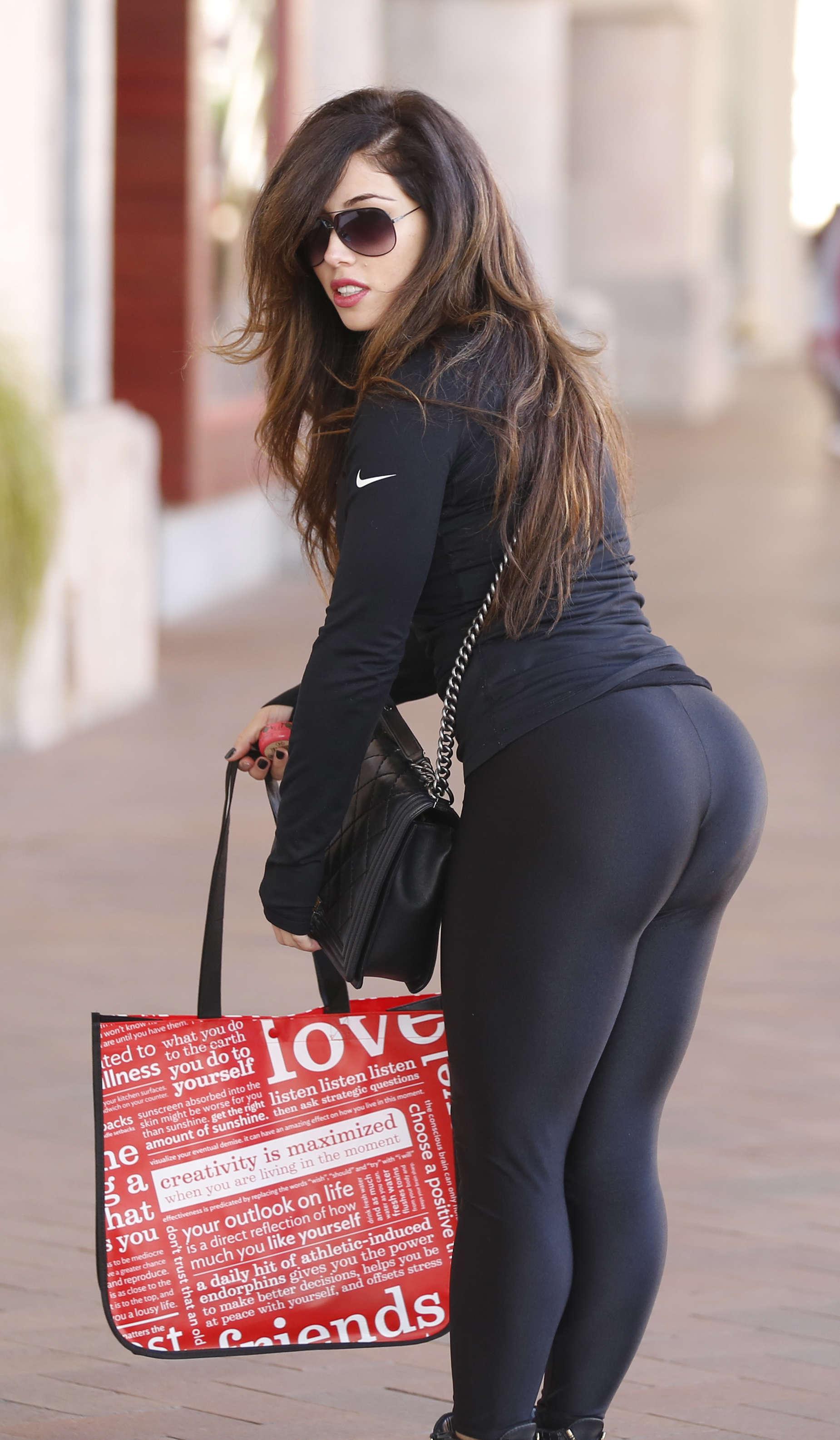 Carmen Ortega shopping in Orange County