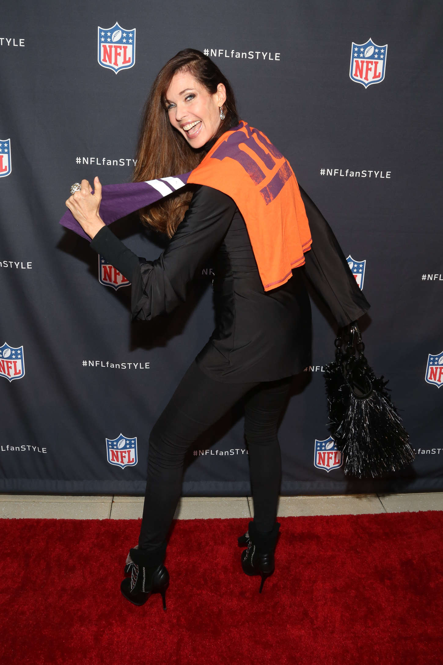 Carol Alt NFL Inaugural Hall of Fashion Launch Event in New York