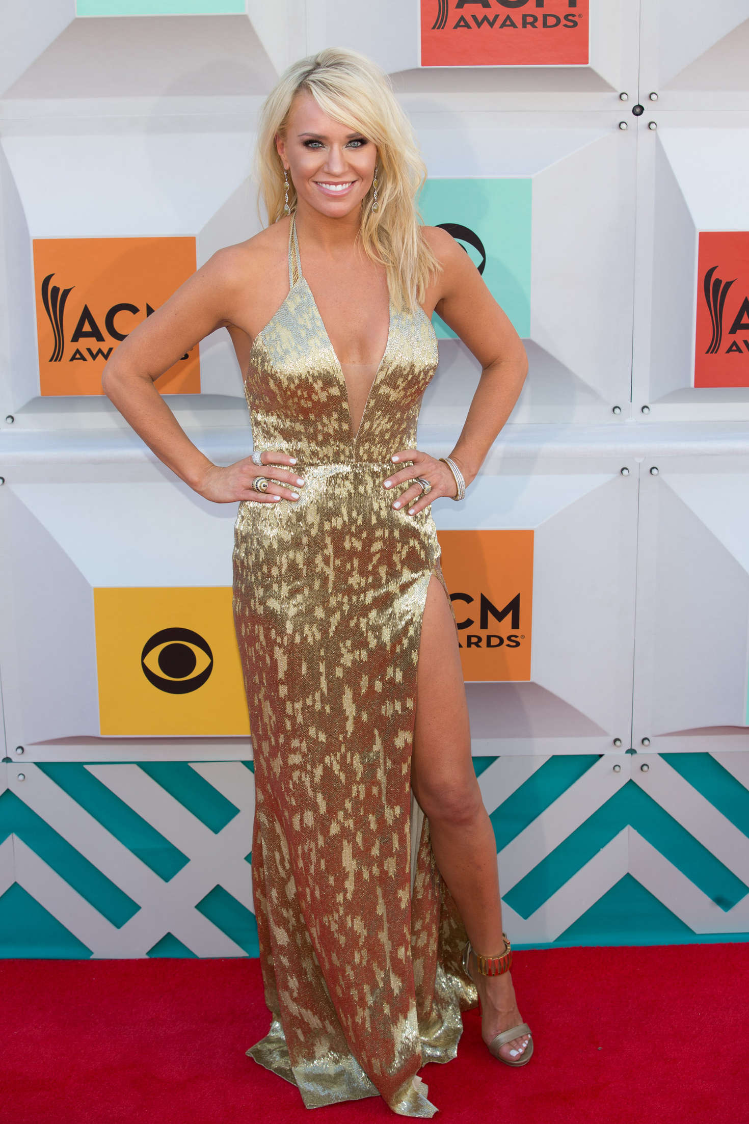 Caroline Boyer Academy of Country Music Awards in Las Vegas