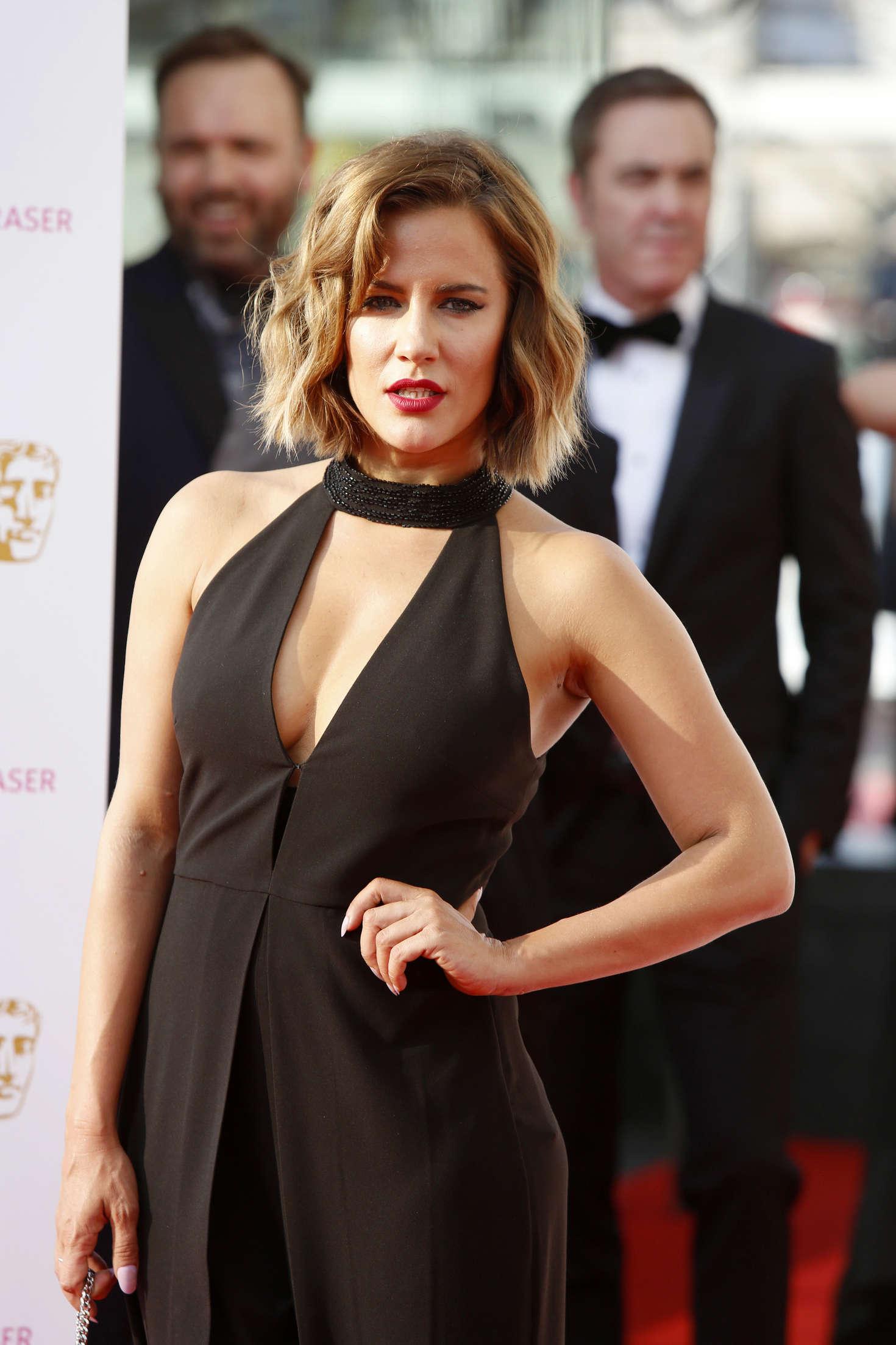 Caroline Flack BAFTA TV Awards in London