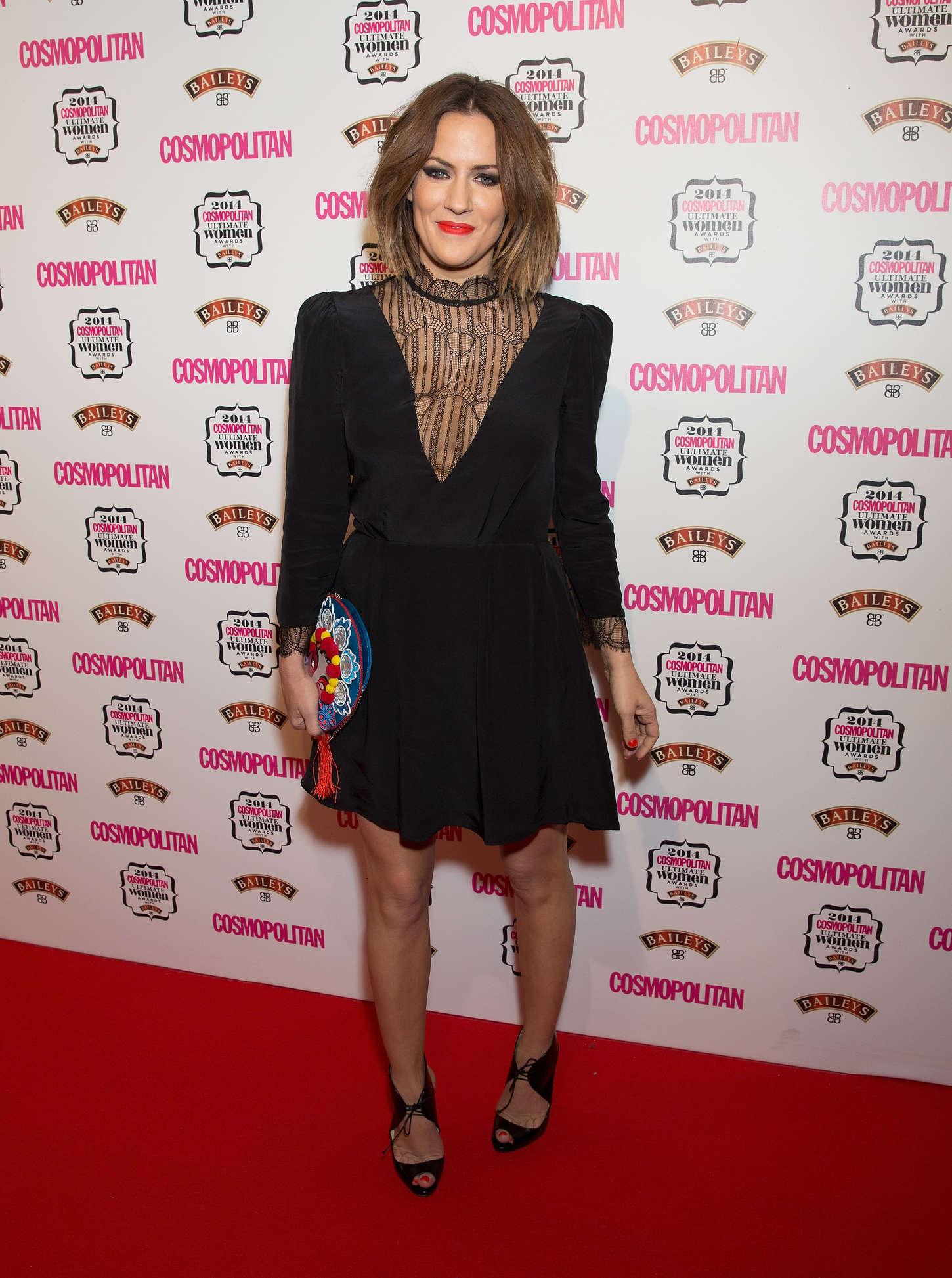 Caroline Flack Cosmopolitan Ultimate Women Awards in London