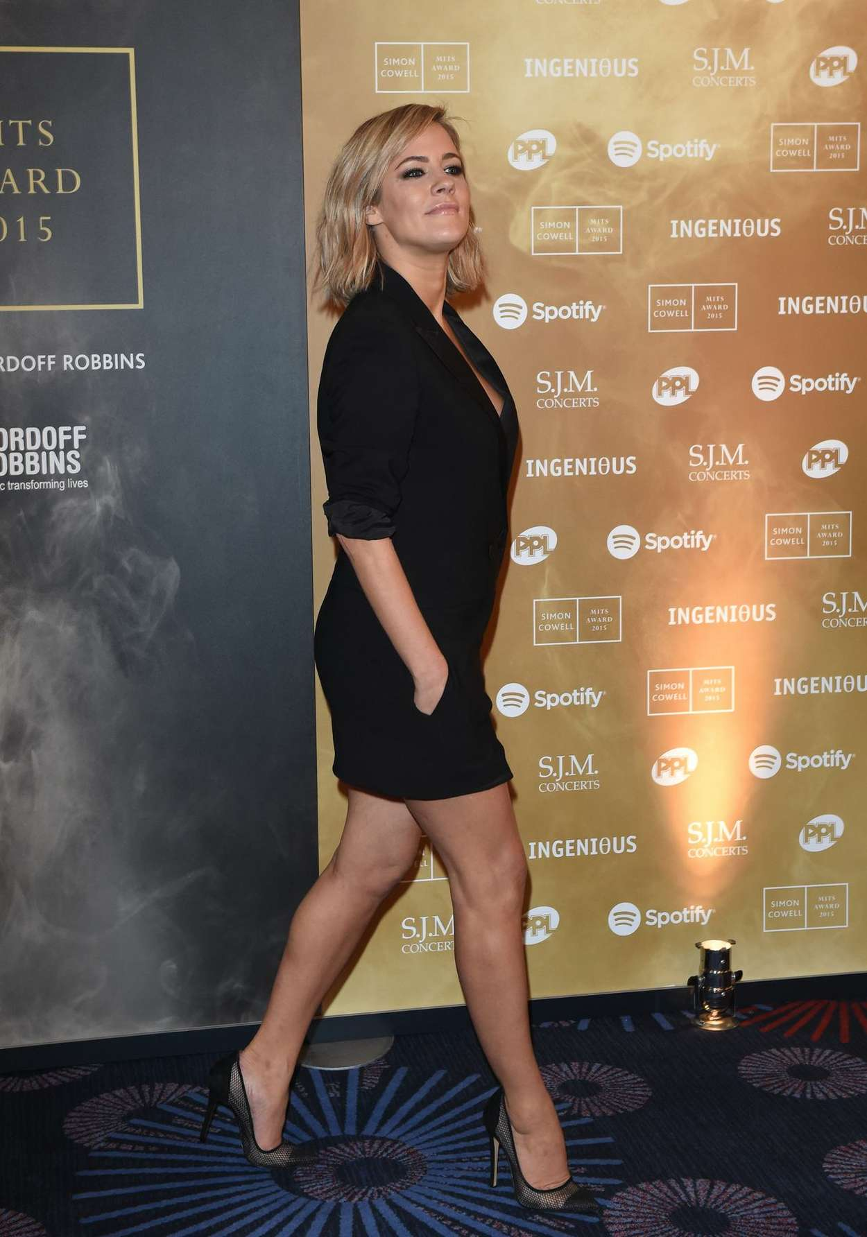 Caroline Flack Music Industry Trust Awards in London