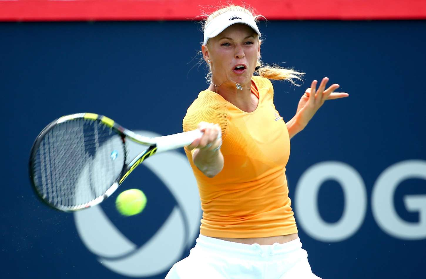 Caroline Wozniacki at Rogers Cup in Montreal