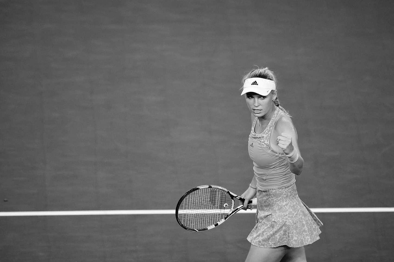 Caroline Wozniacki Australian Open round