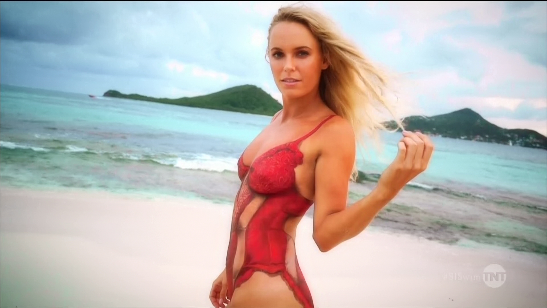 Caroline Wozniacki Sports Illustrated Swimsuit Edition