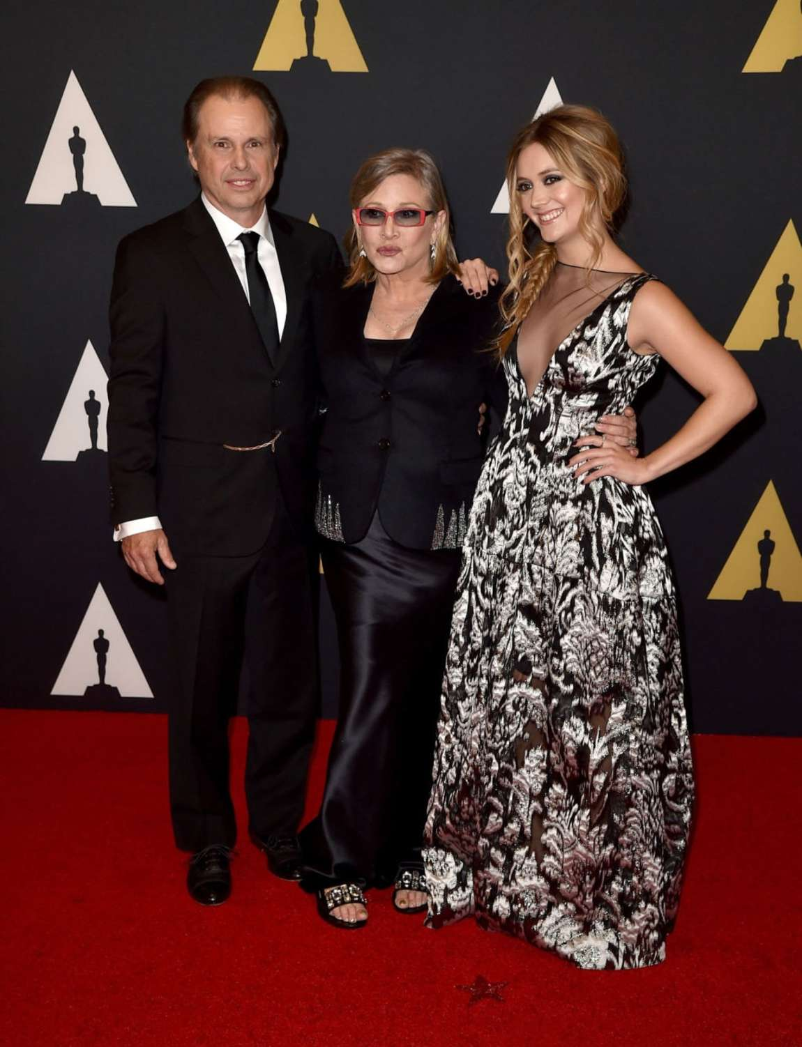 Carrie Fisher and Billie Lourd Annual Governors Awards in Hollywood