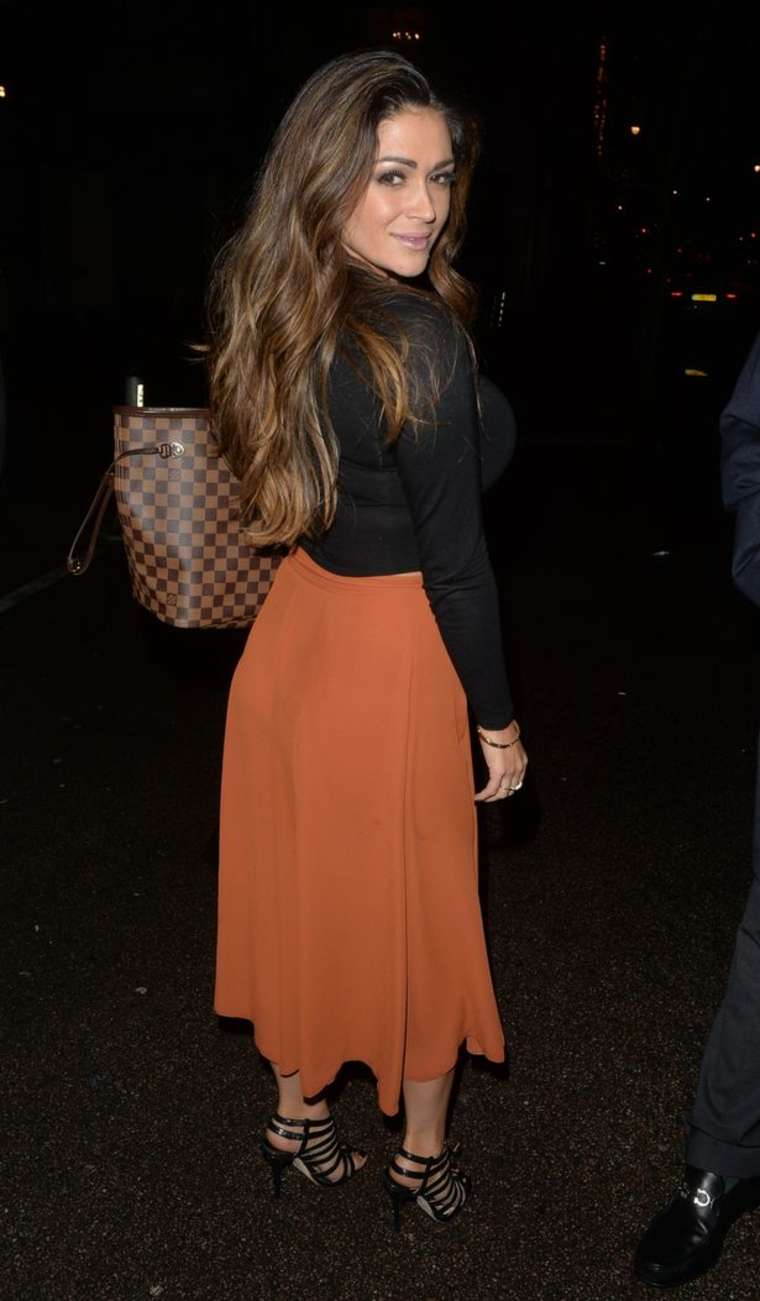 Casey Batchelor Nightout in London
