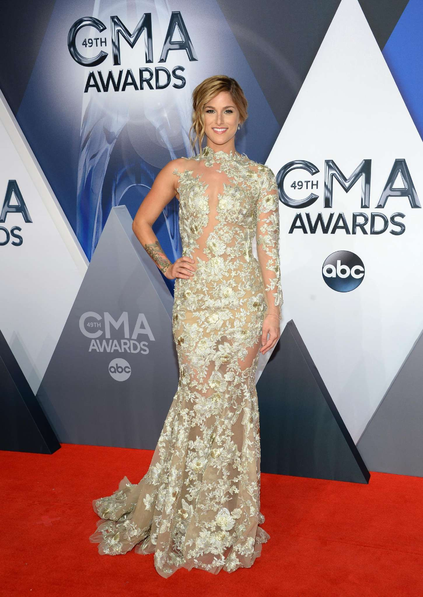 Cassadee Pope Annual CMA Awards in Nashville