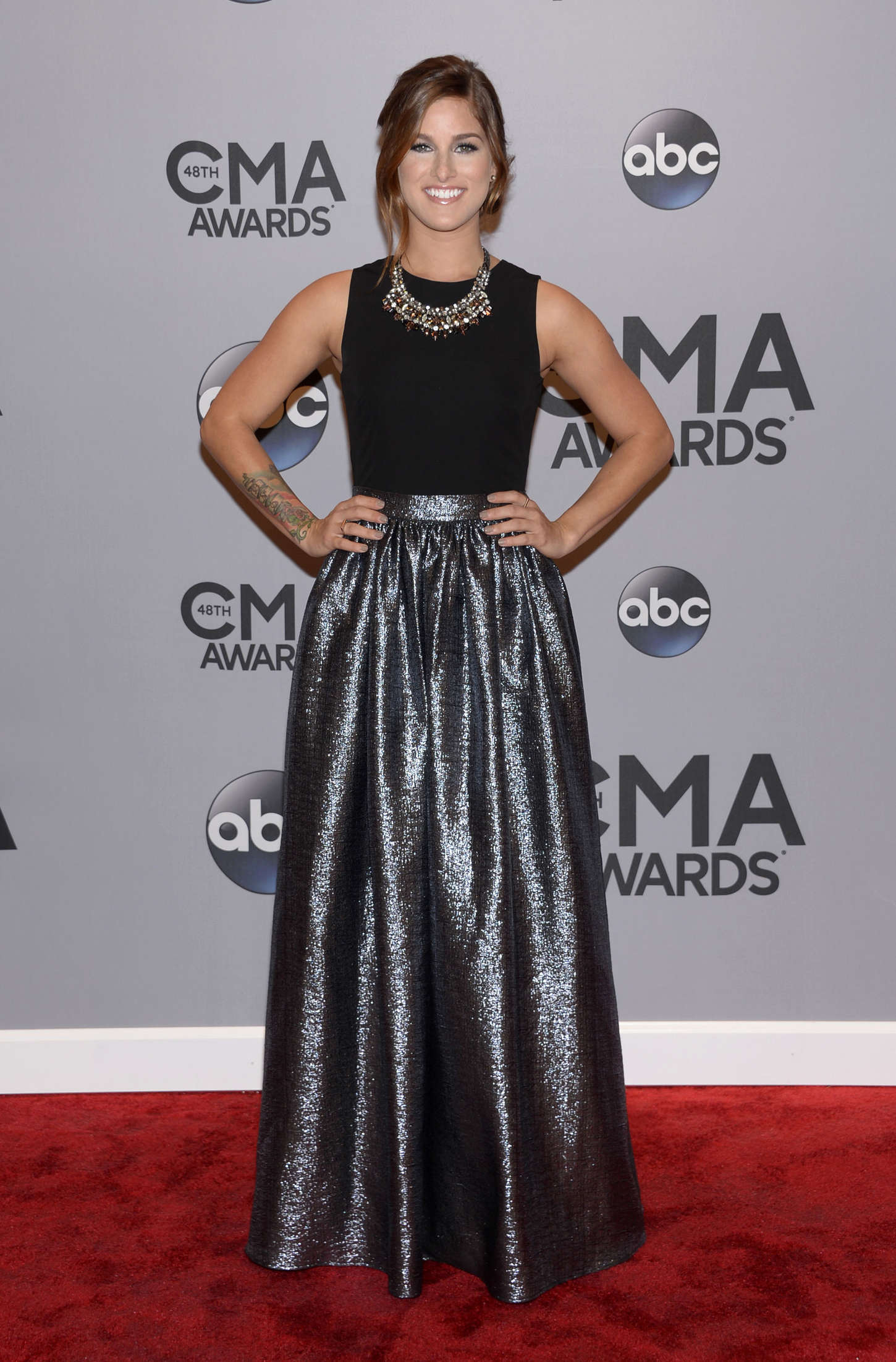 Cassadee Pope at Annual CMA Awards in Nashville
