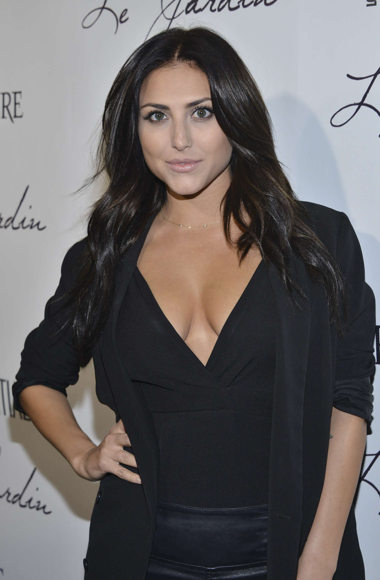Cassie Scerbo Grand Opening Of Le Jardin in Hollywood