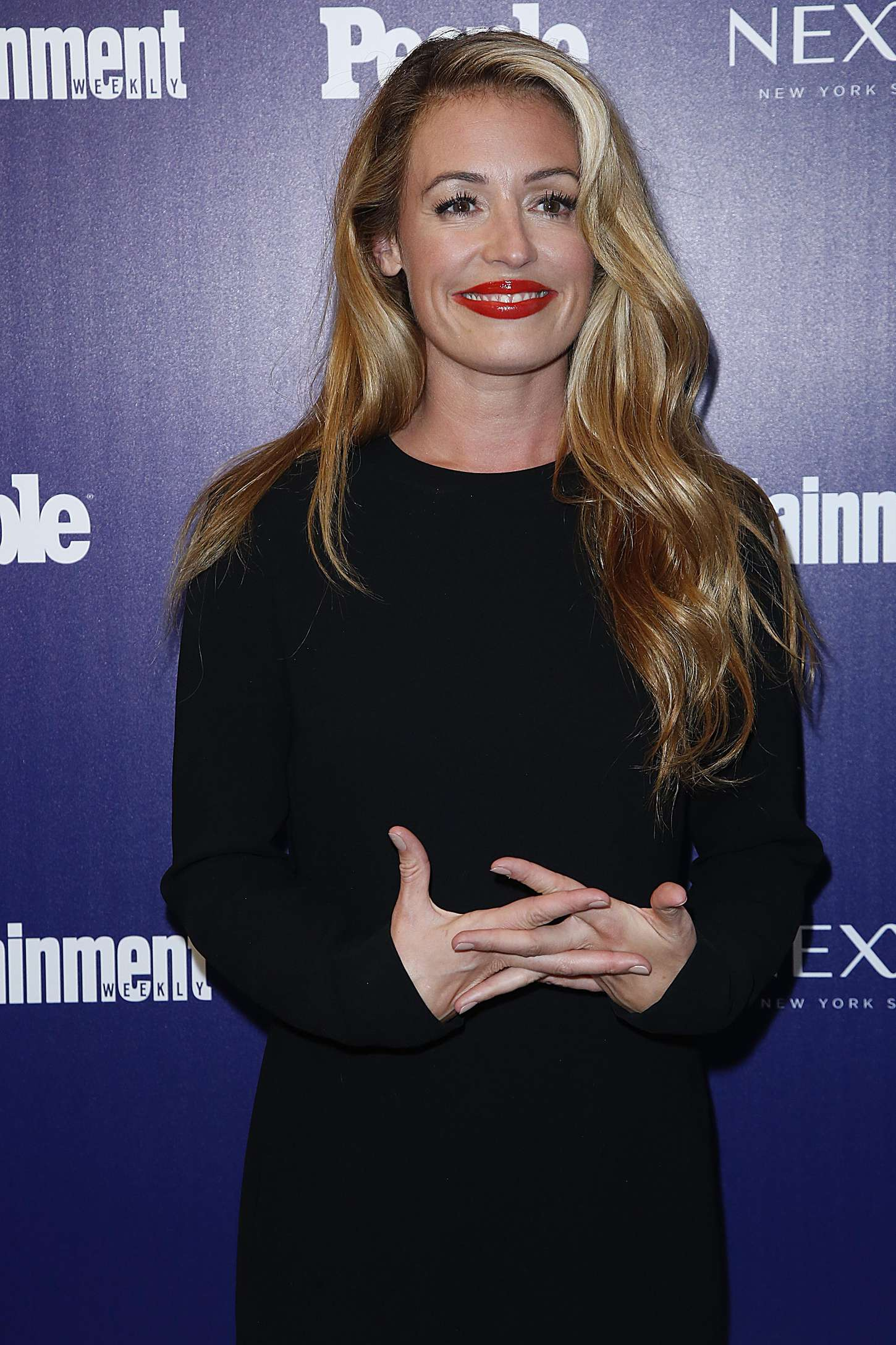 Cat Deeley Entertainment Weekly And PEOPLE Celebrate The New York Upfronts in New York