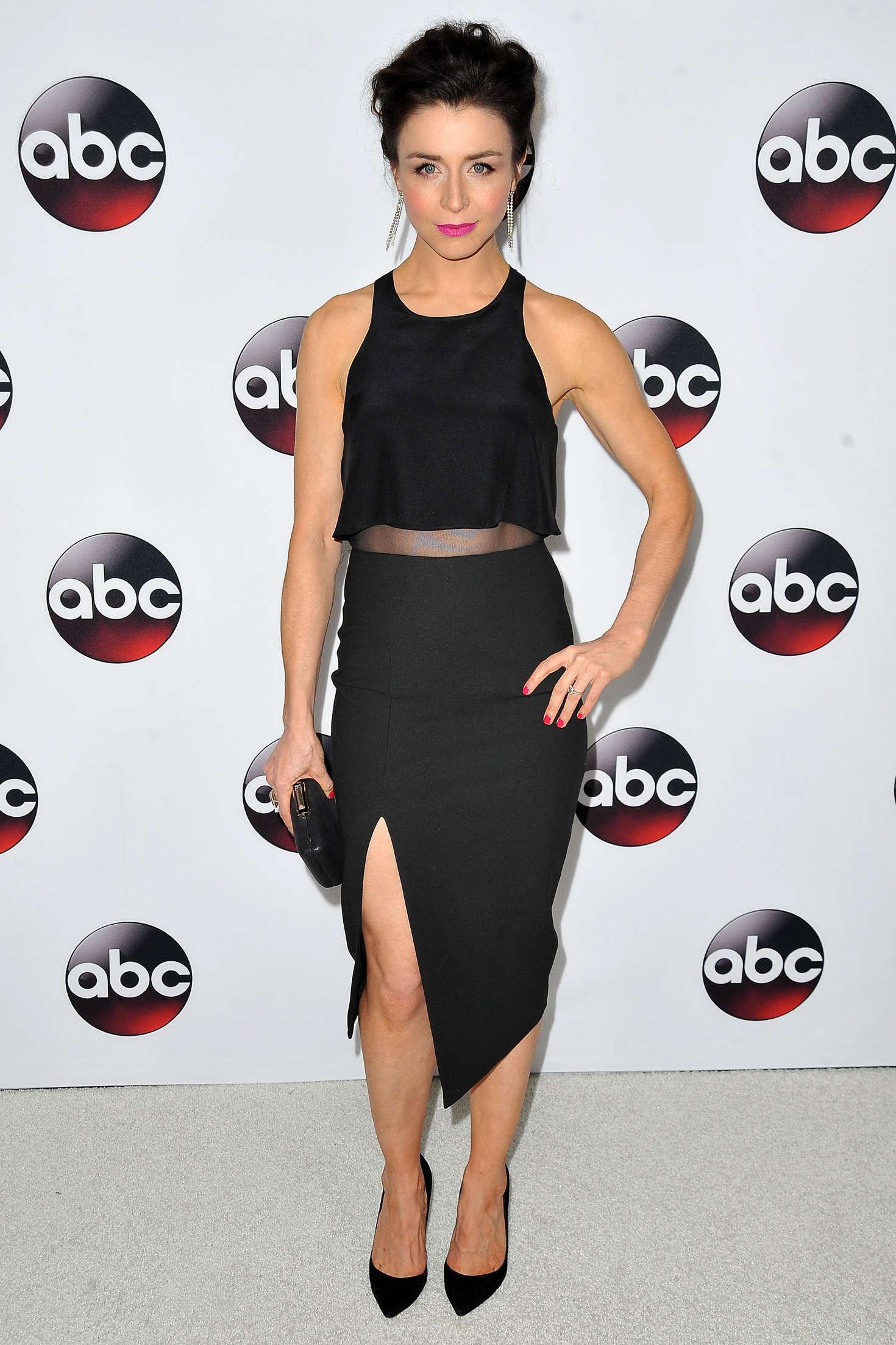 Caterina Scorsone Disney/ABC Winter TCA Press Tour in Pasadena