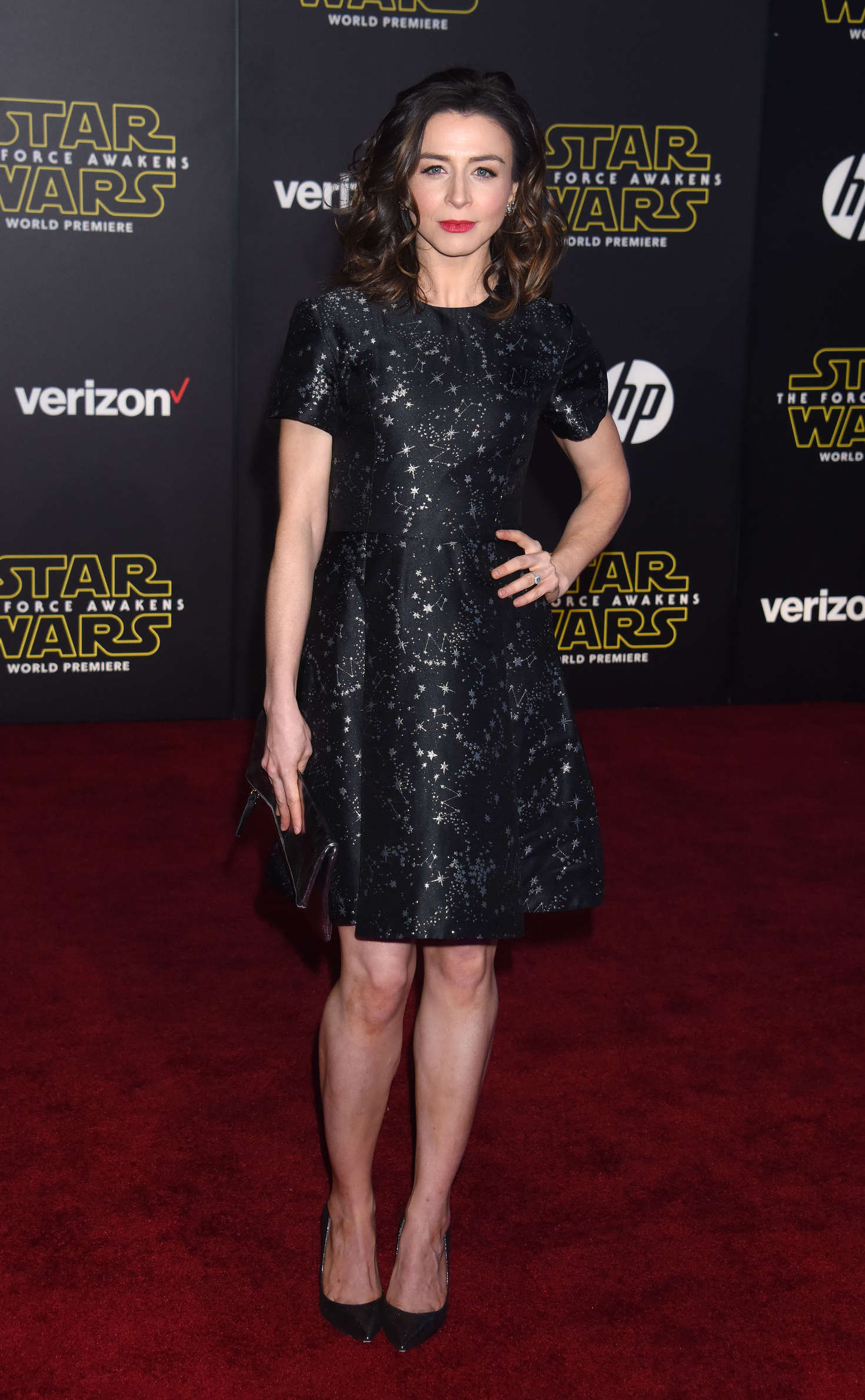 Caterina Scorsone Star Wars The Force Awakens Premiere in Hollywood