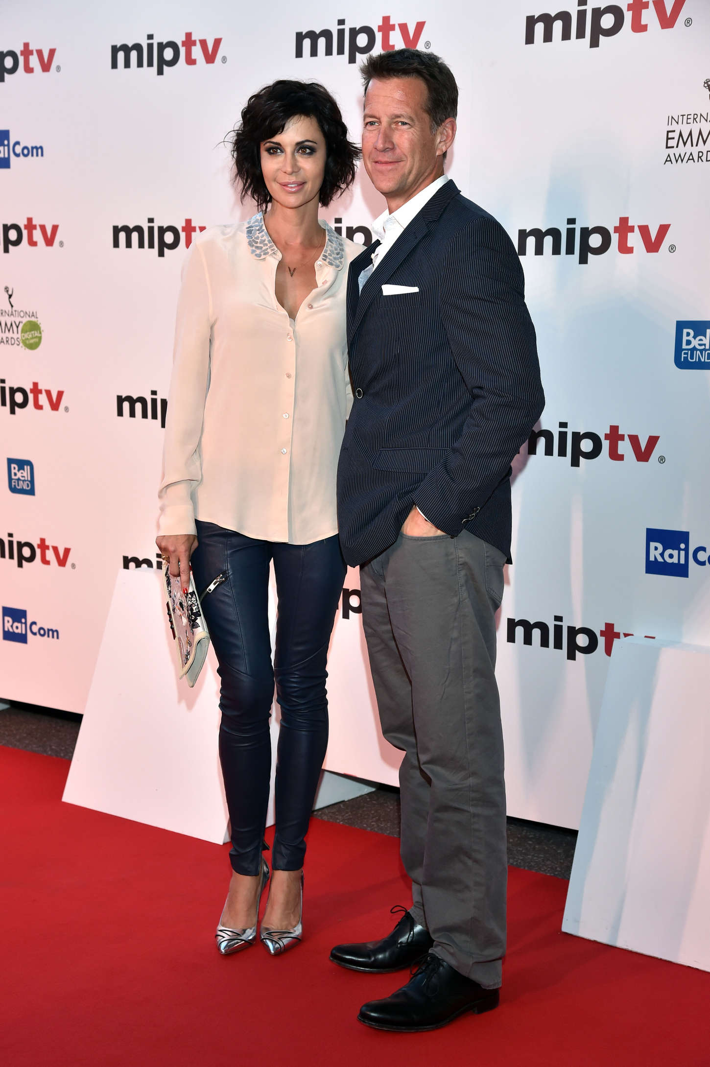 Catherine Bell MIPTV Opening Party at Hotel Martinez in Cannes