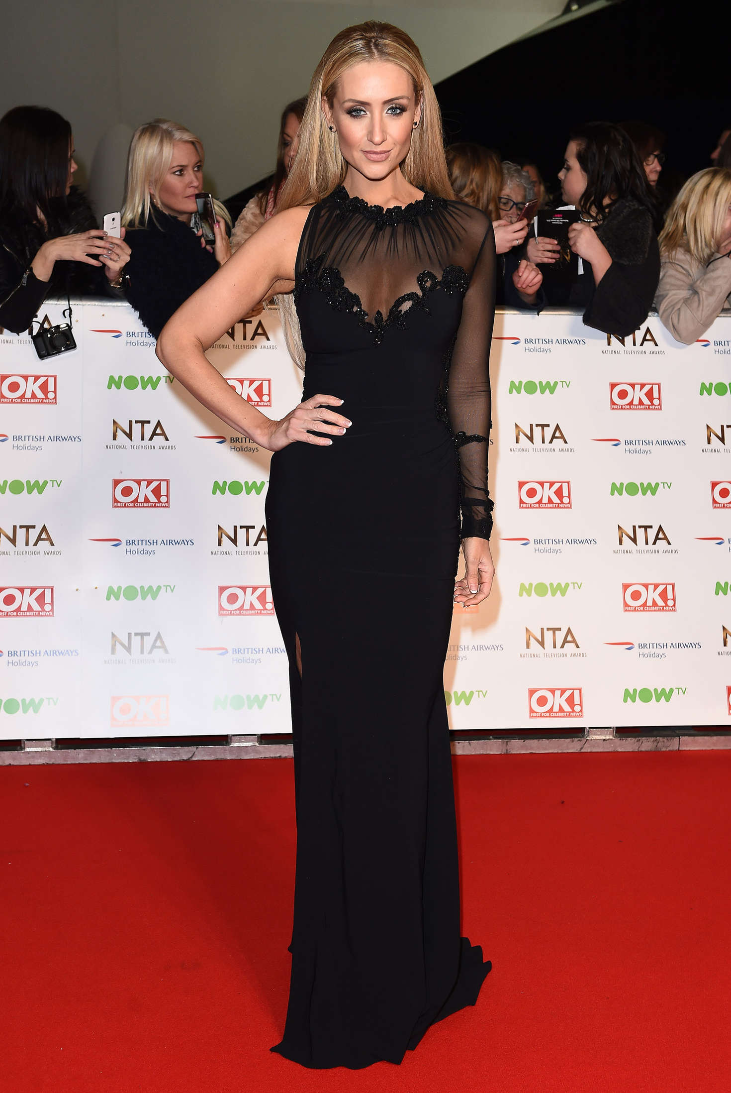 Catherine Tyldesley National Television Awards in London