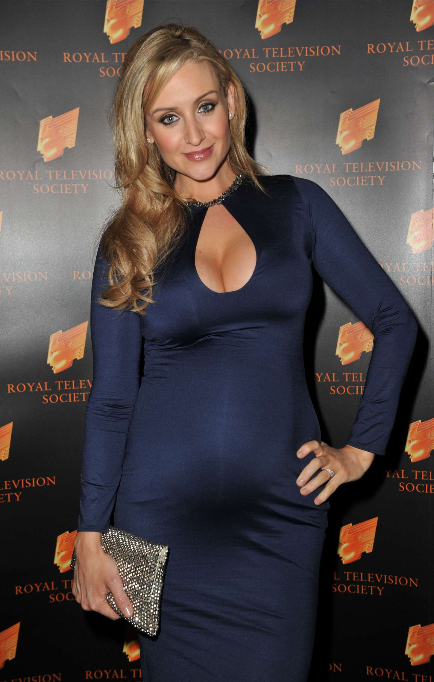 Catherine Tyldesley RTS Awards in Manchester